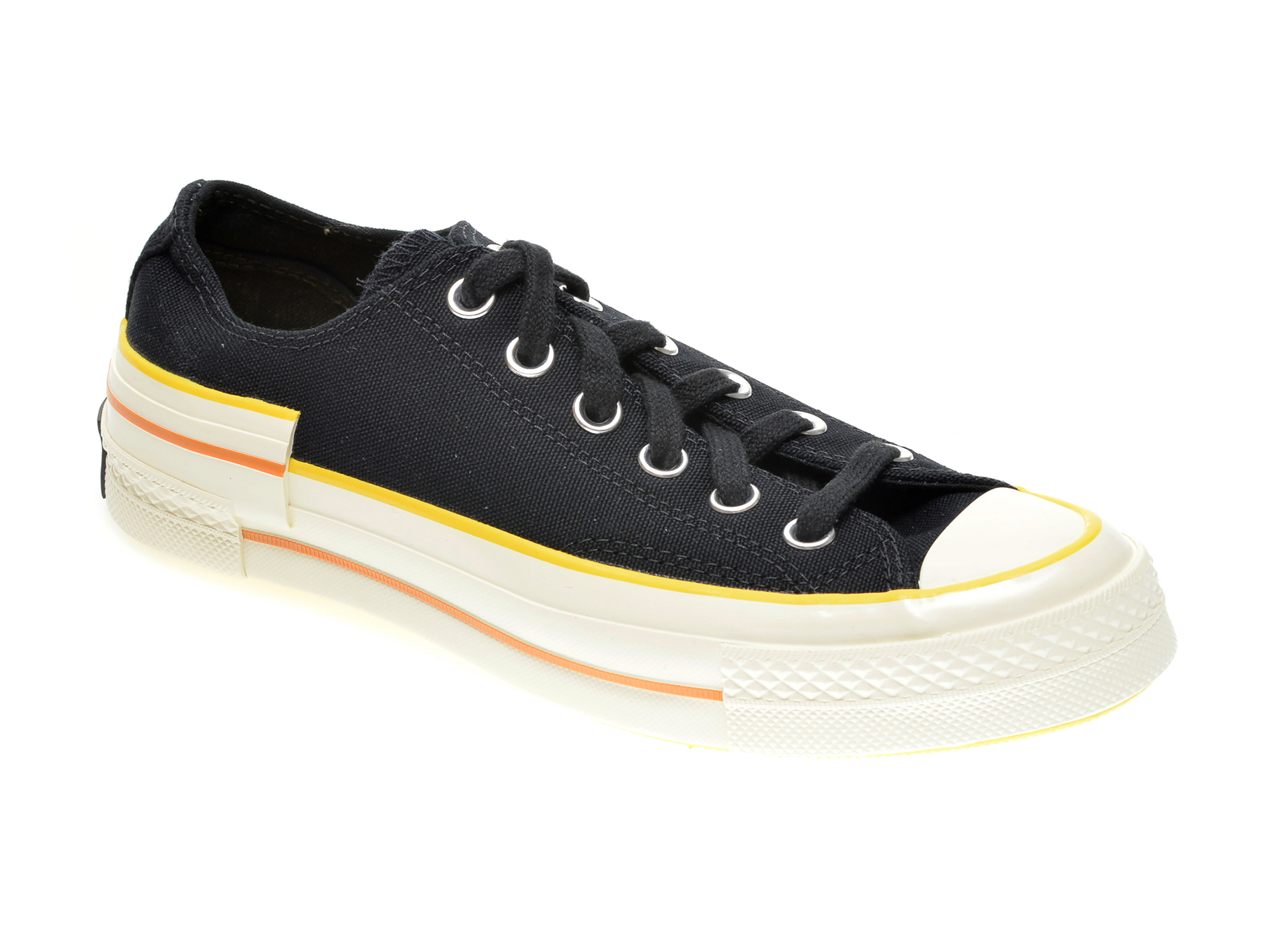 Pantofi sport CONVERSE negri, 568802C, din material textil