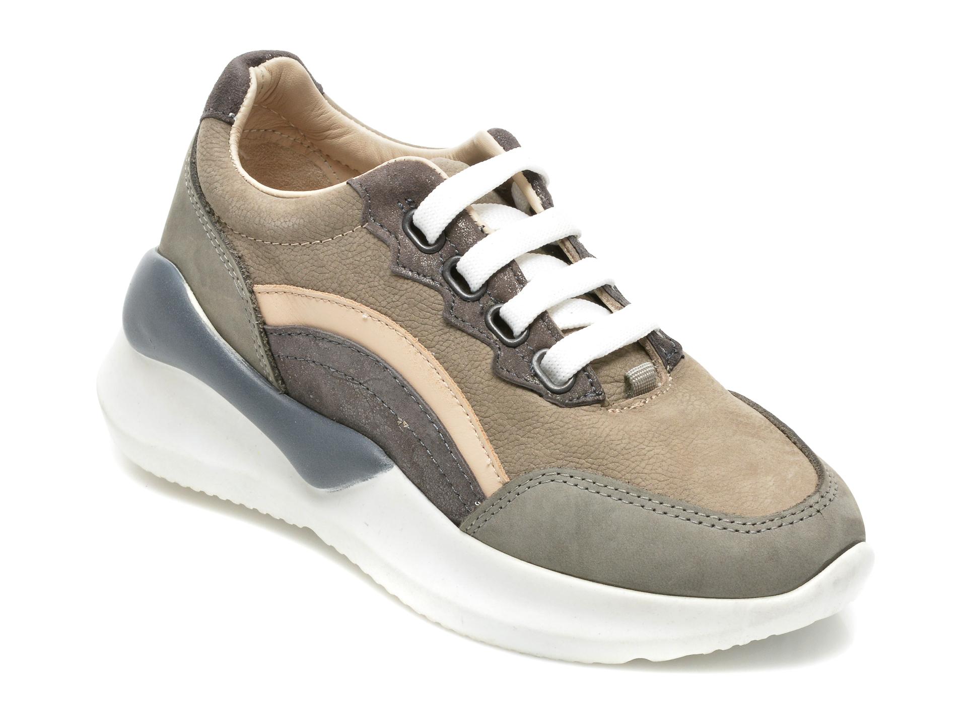 Pantofi Sport Donna Style Gri, 212, Din Nabuc