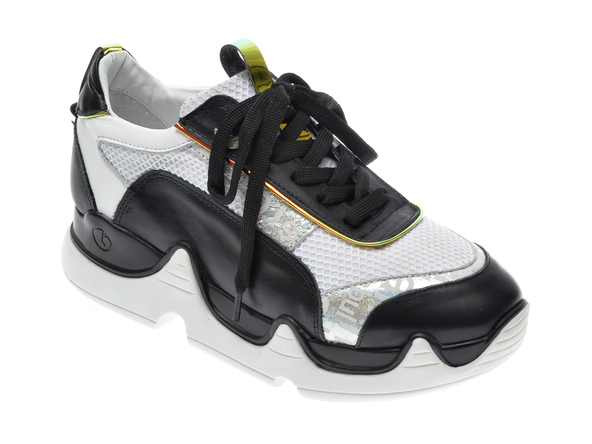 Pantofi Sport Epica Negri, 135p164, Din Piele Naturala