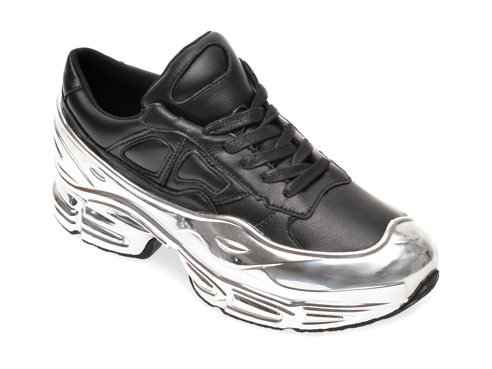 Pantofi Sport Epica Negri, 9999, Din Piele Naturala