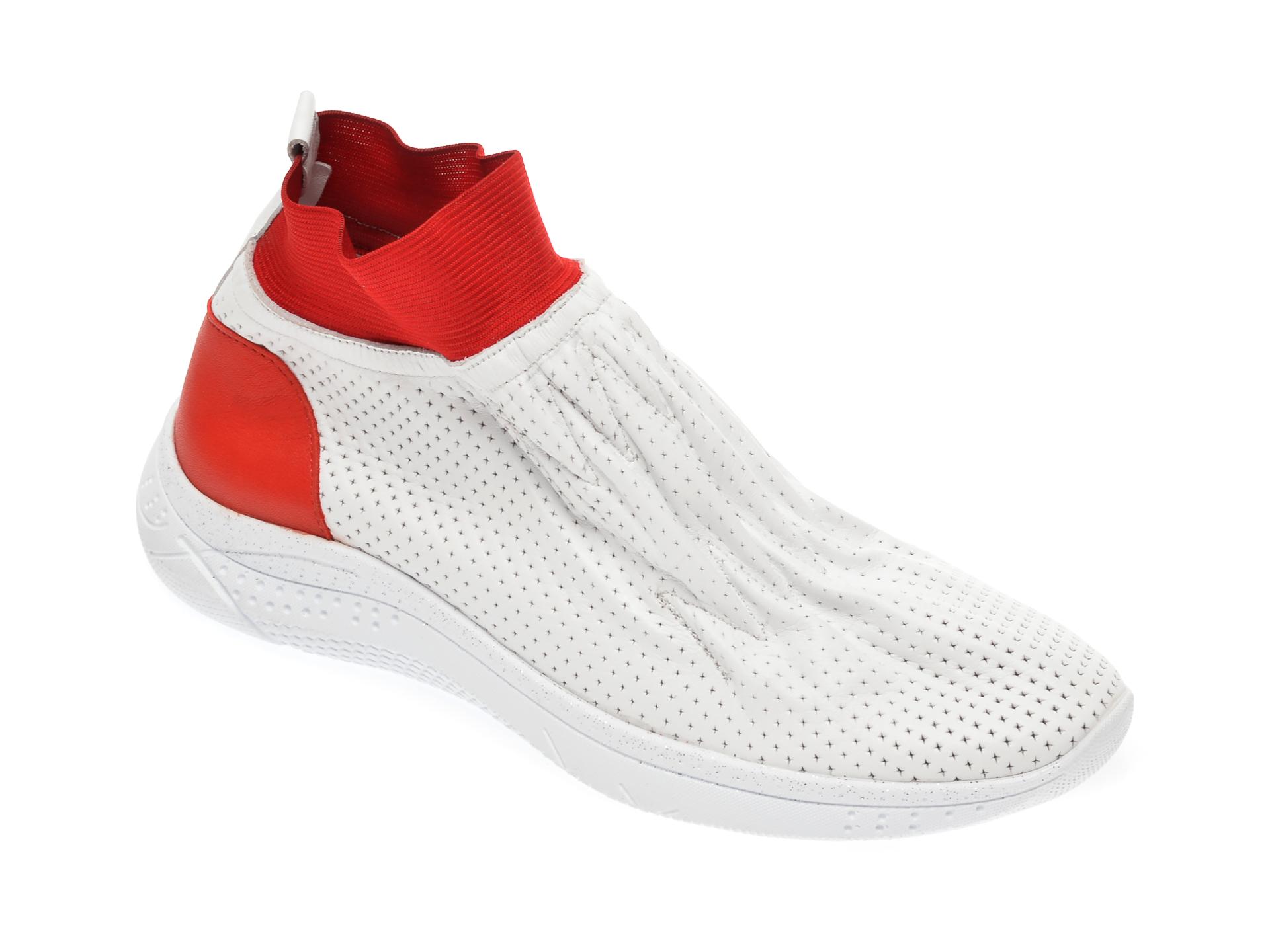 Pantofi sport FLAVIA PASSINI albi, 1695096, din piele naturala