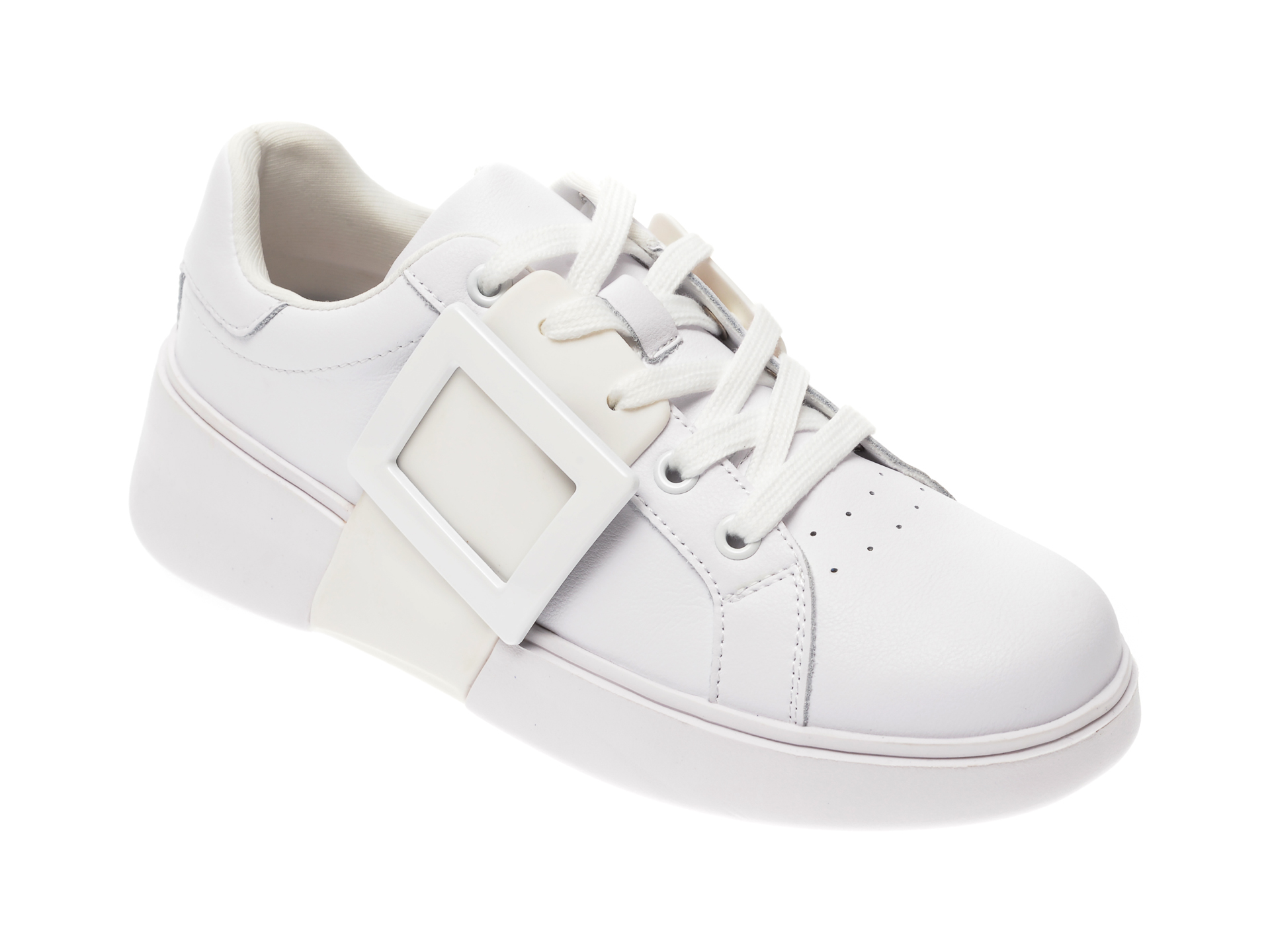 Pantofi sport FLAVIA PASSINI albi, 262, din piele naturala imagine
