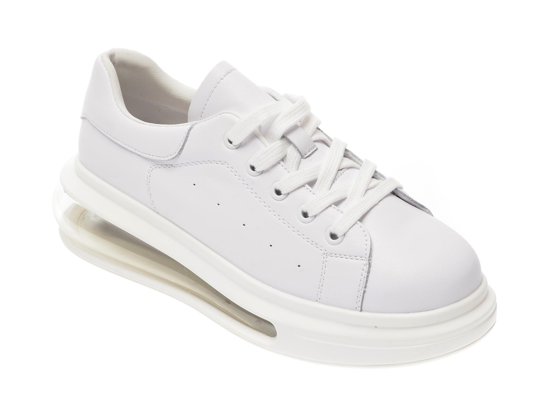 Pantofi sport FLAVIA PASSINI albi, 263, din piele naturala imagine