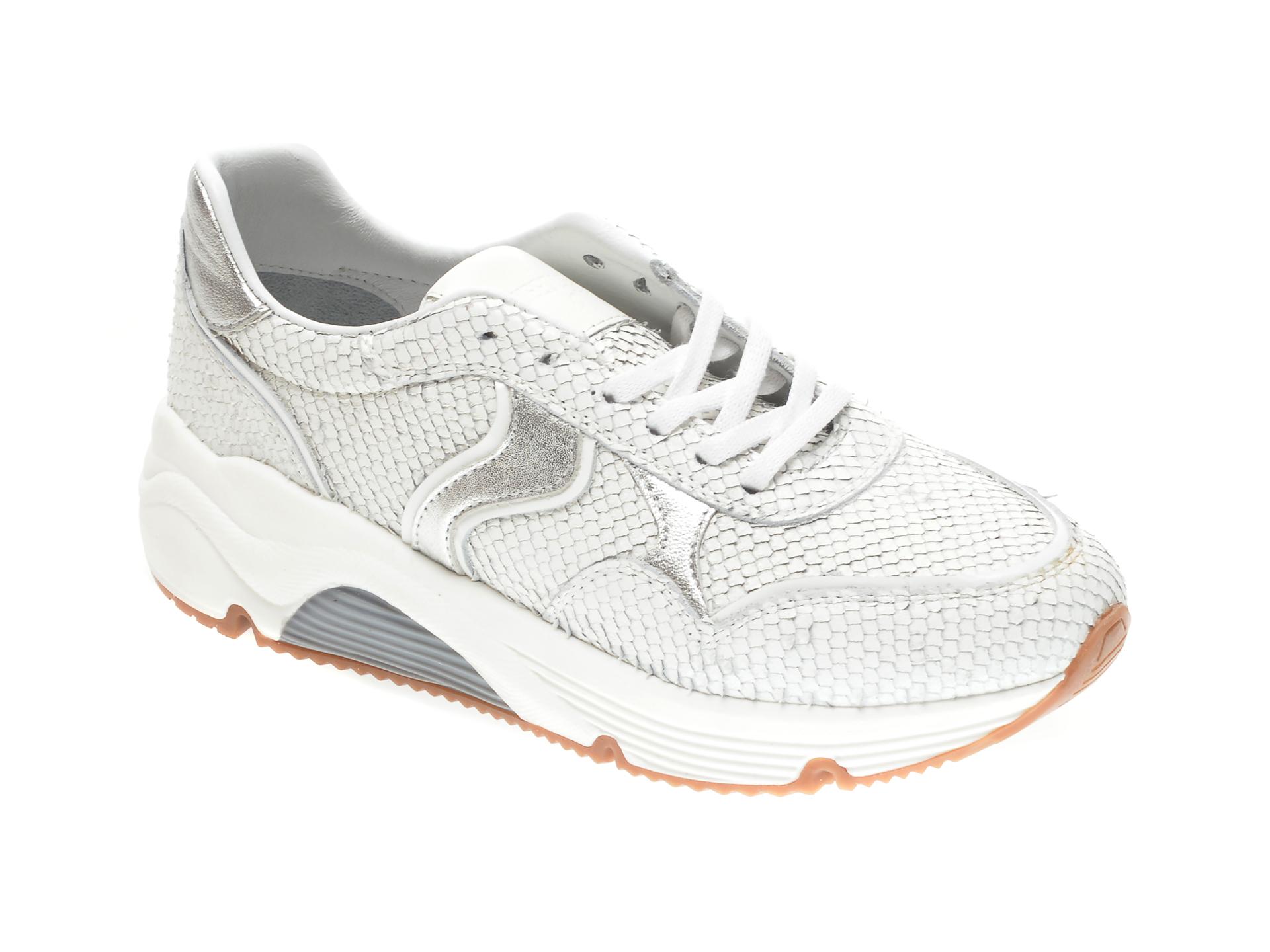 Pantofi sport FLAVIA PASSINI albi, 2911, din piele naturala imagine