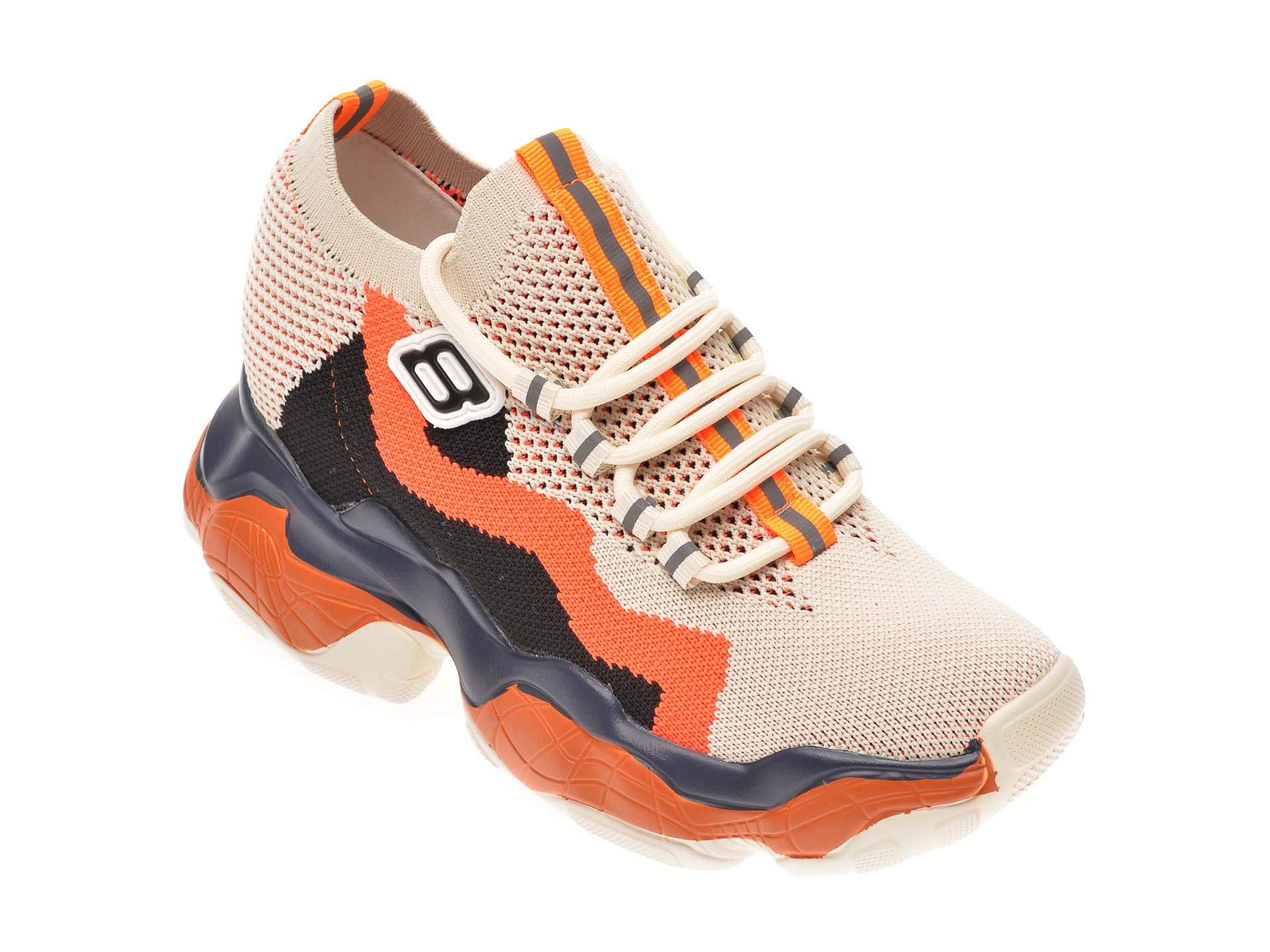 Pantofi sport FLAVIA PASSINI bej, 92200, din material textil imagine