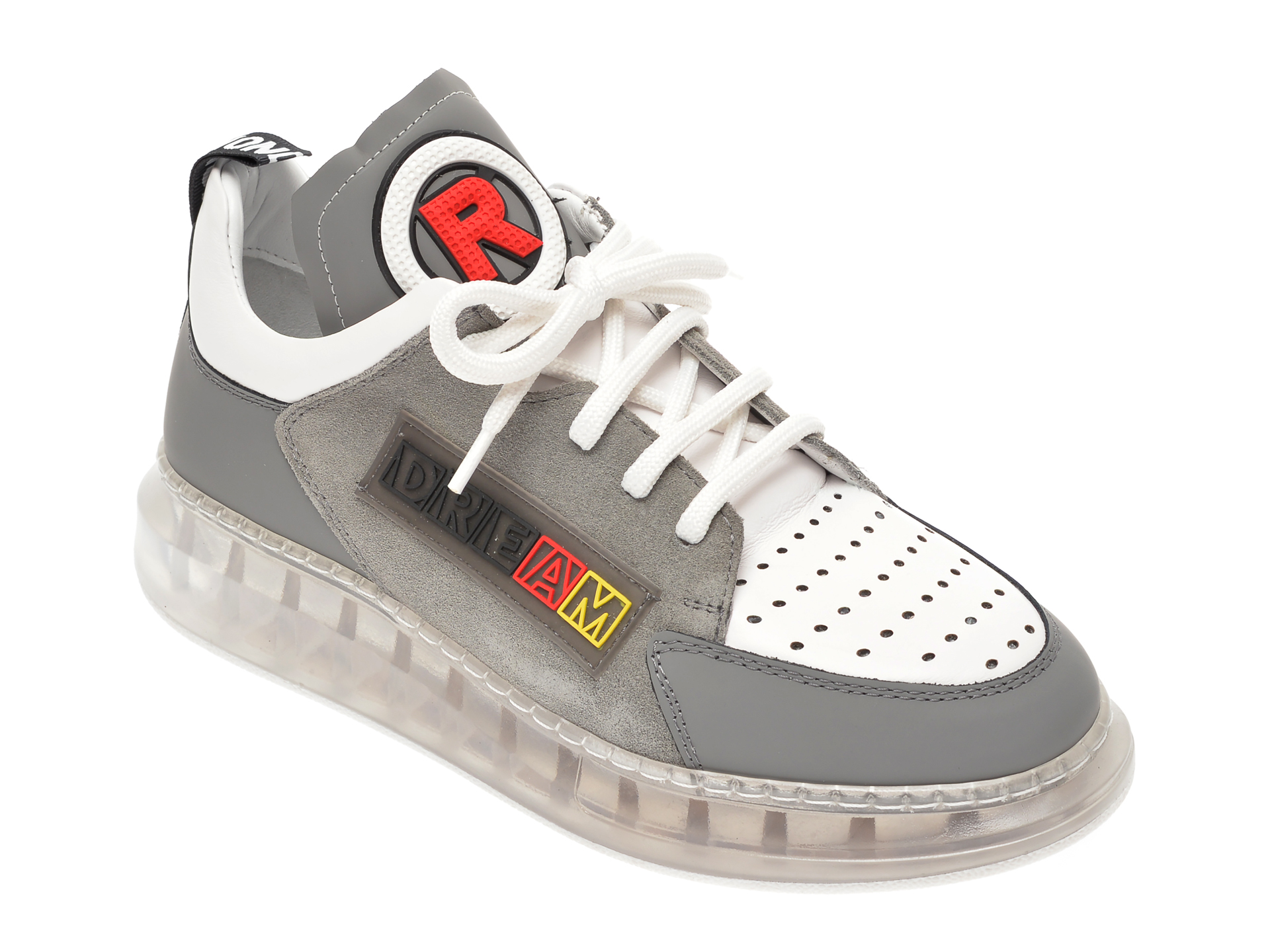 Pantofi sport FLAVIA PASSINI gri, 7612750, din piele naturala