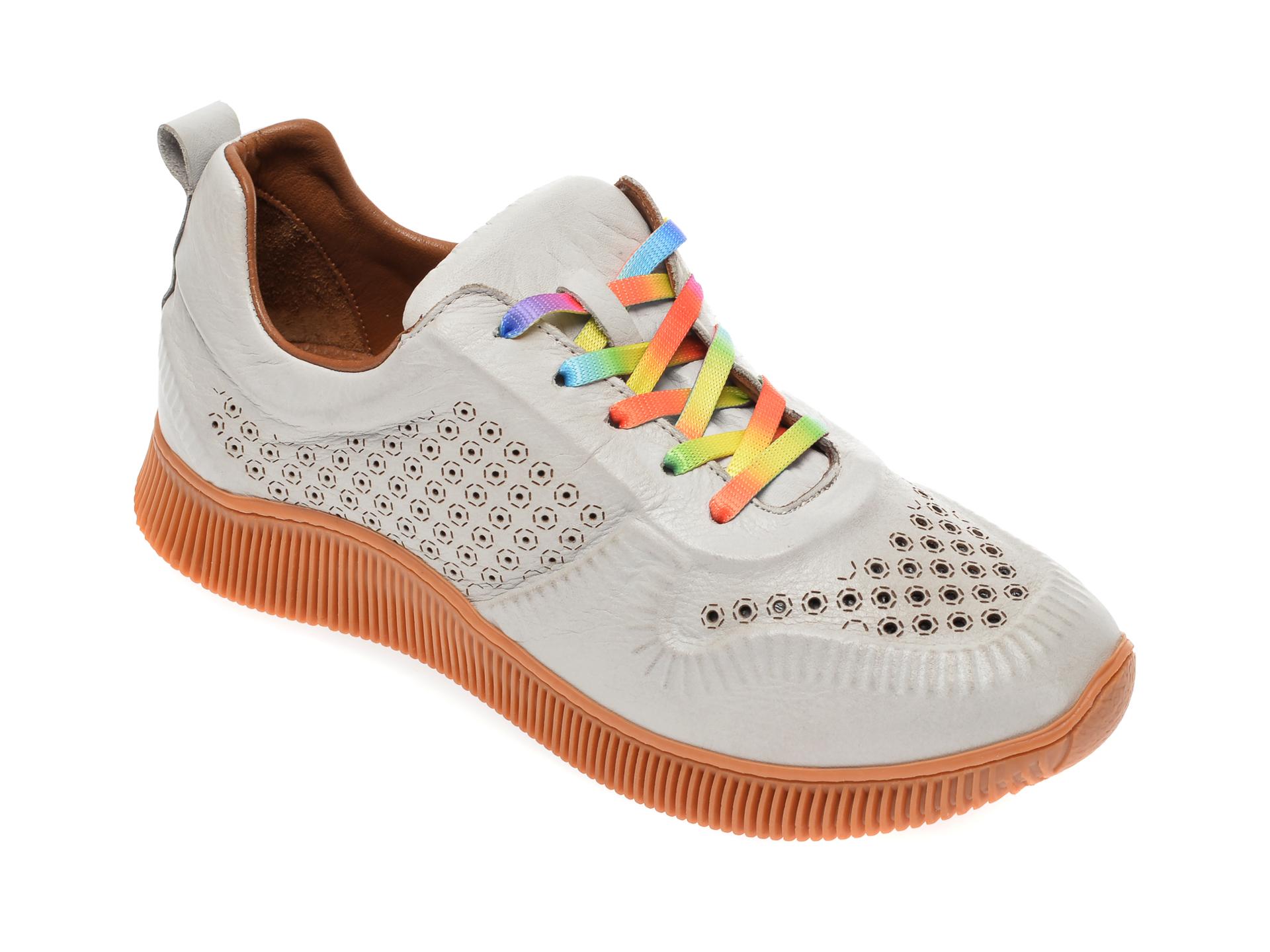 Pantofi sport FLAVIA PASSINI gri, 7763521, din piele naturala