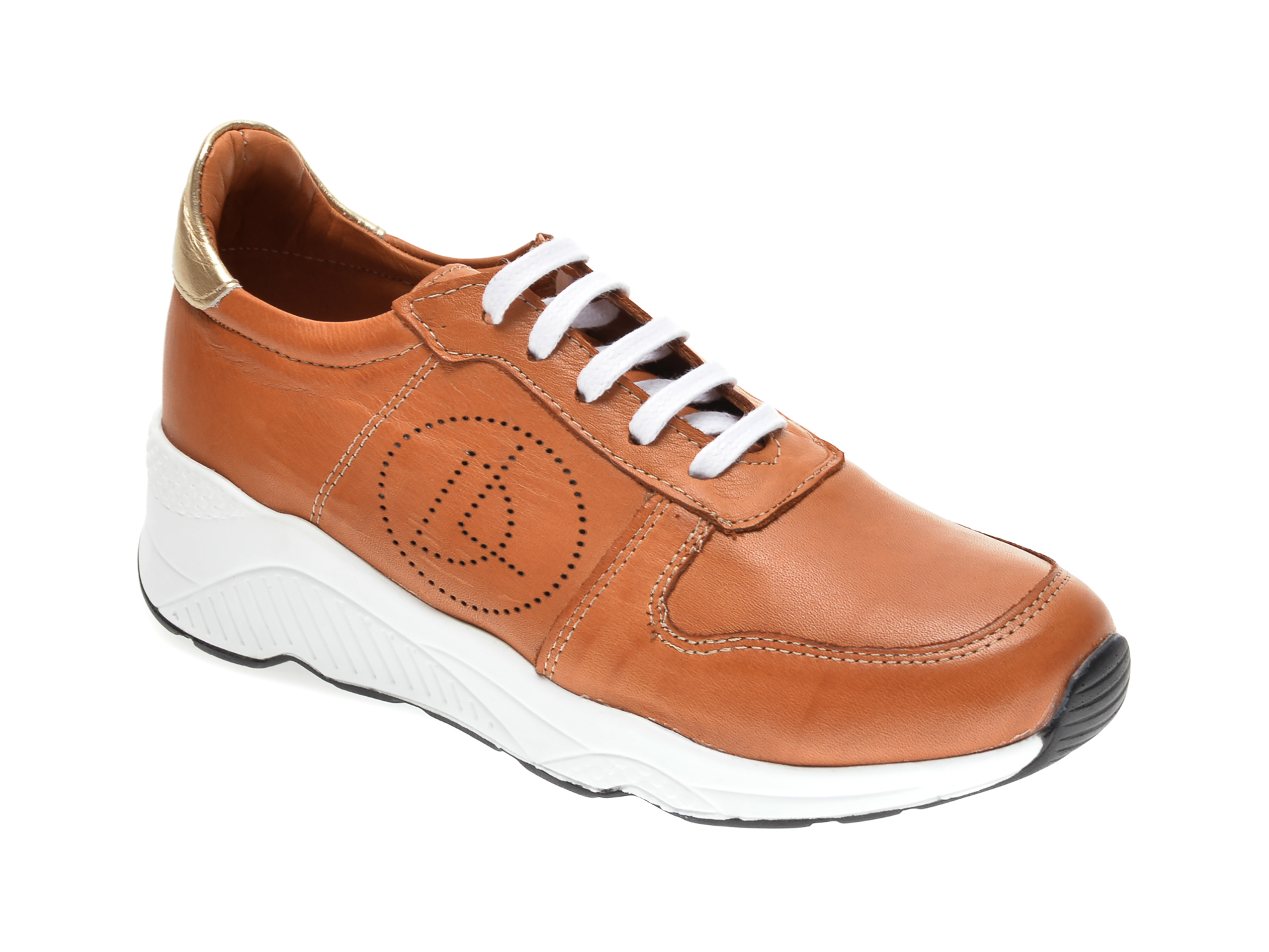 Pantofi sport FLAVIA PASSINI maro, 2771, din piele naturala