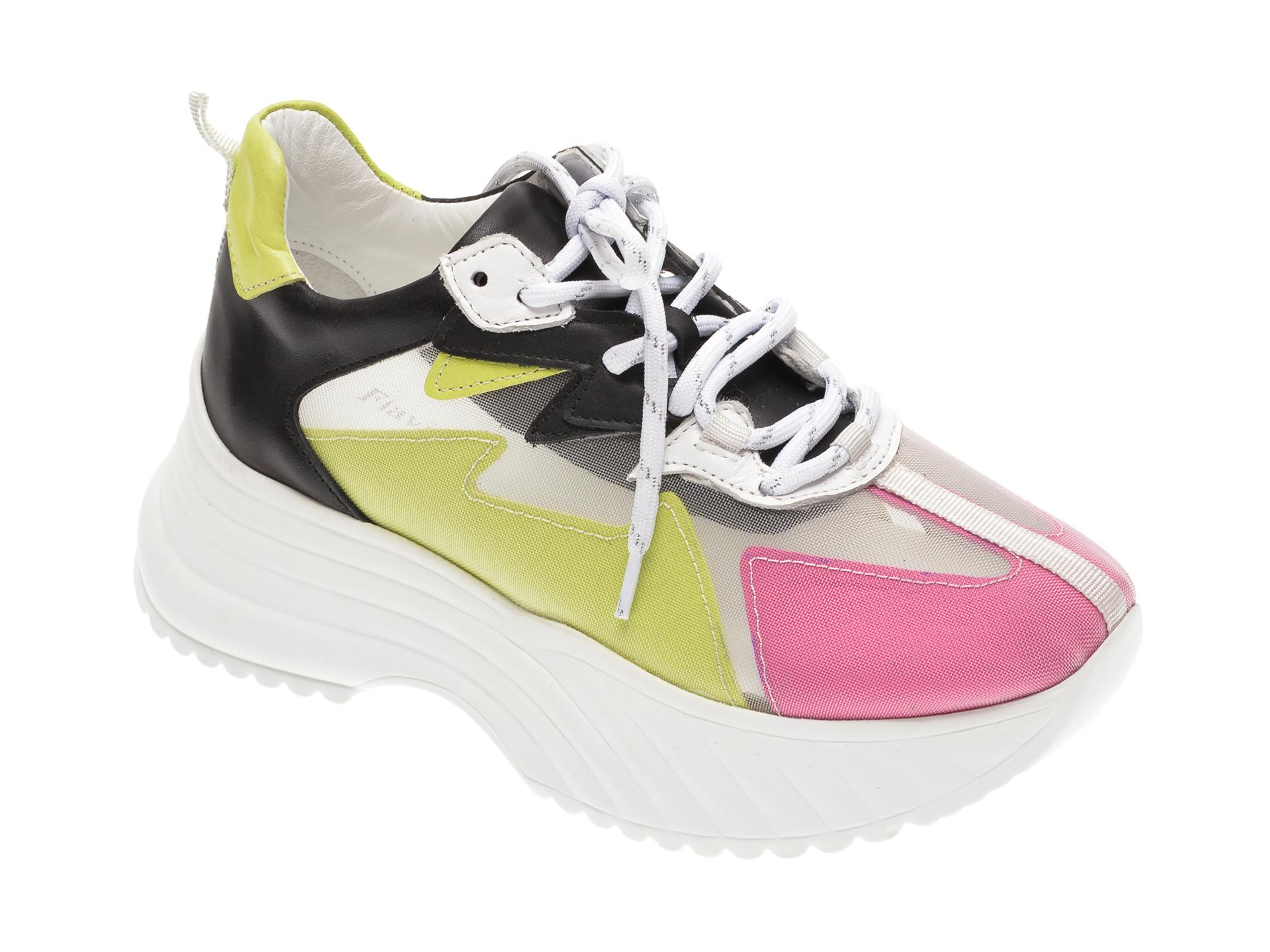 Pantofi sport FLAVIA PASSINI multicolor, 135304, din material textil si piele naturala