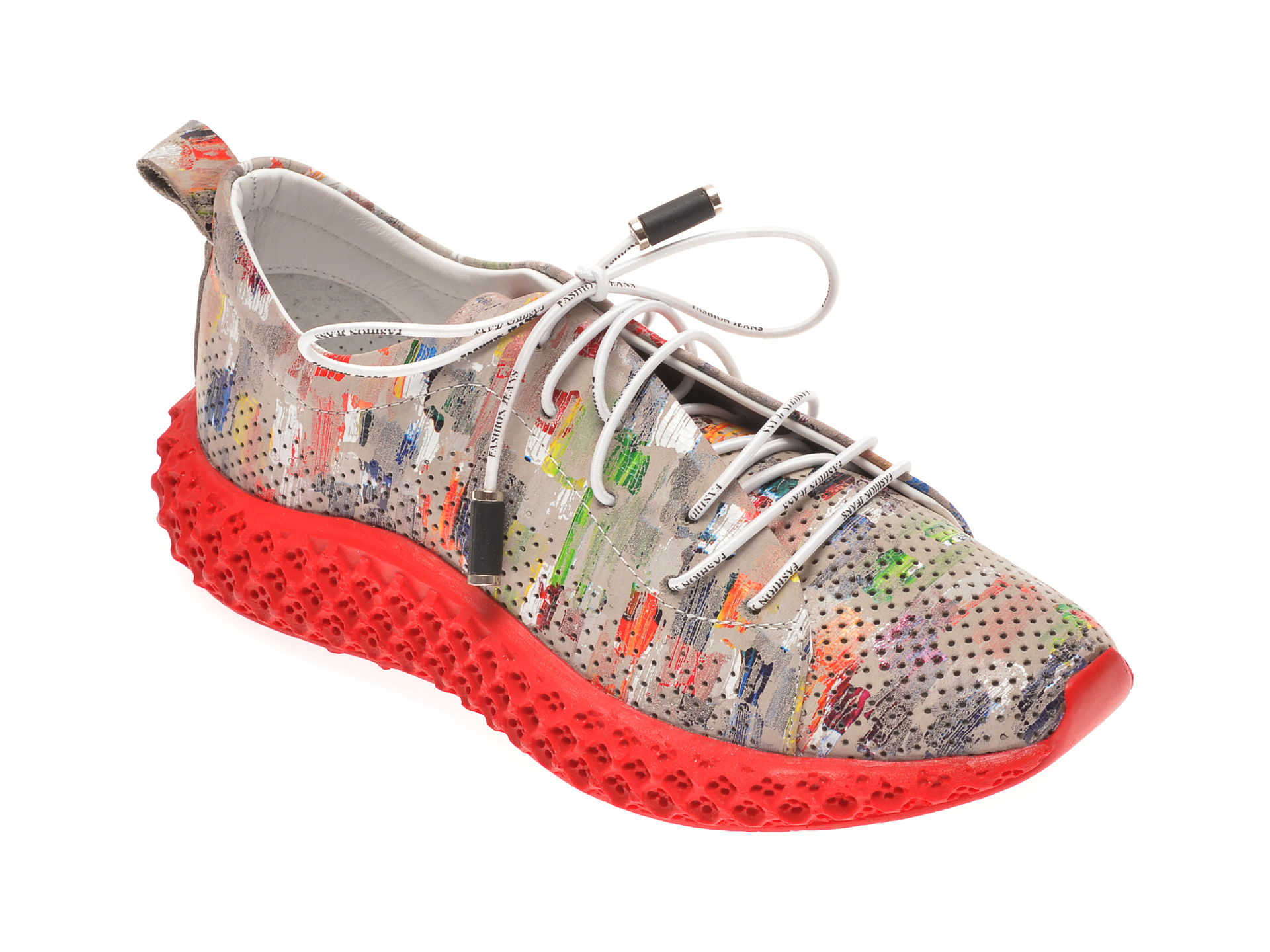 Pantofi sport FLAVIA PASSINI multicolori, 022605, din piele naturala