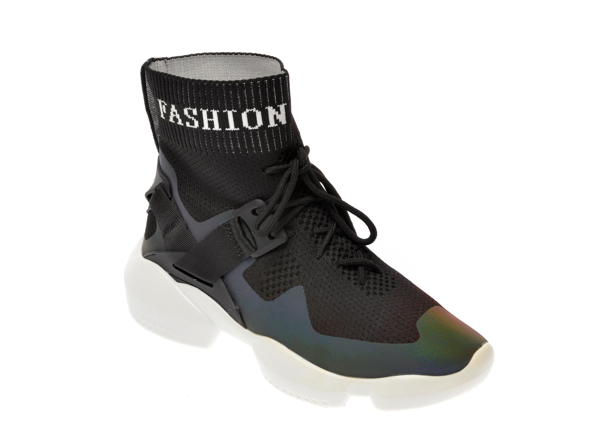 Pantofi sport FLAVIA PASSINI negre, 970, din material textil