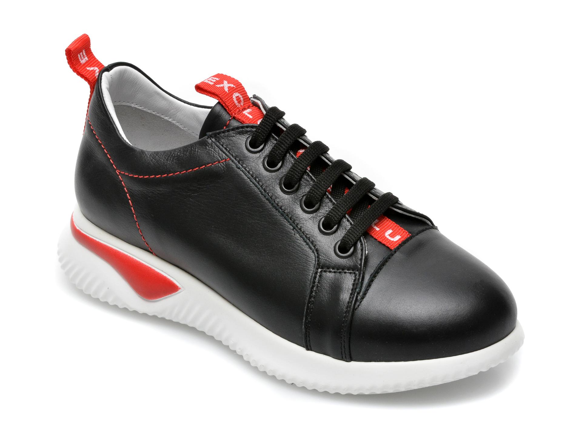 Pantofi sport FLAVIA PASSINI negri, 2469NN, din piele naturala