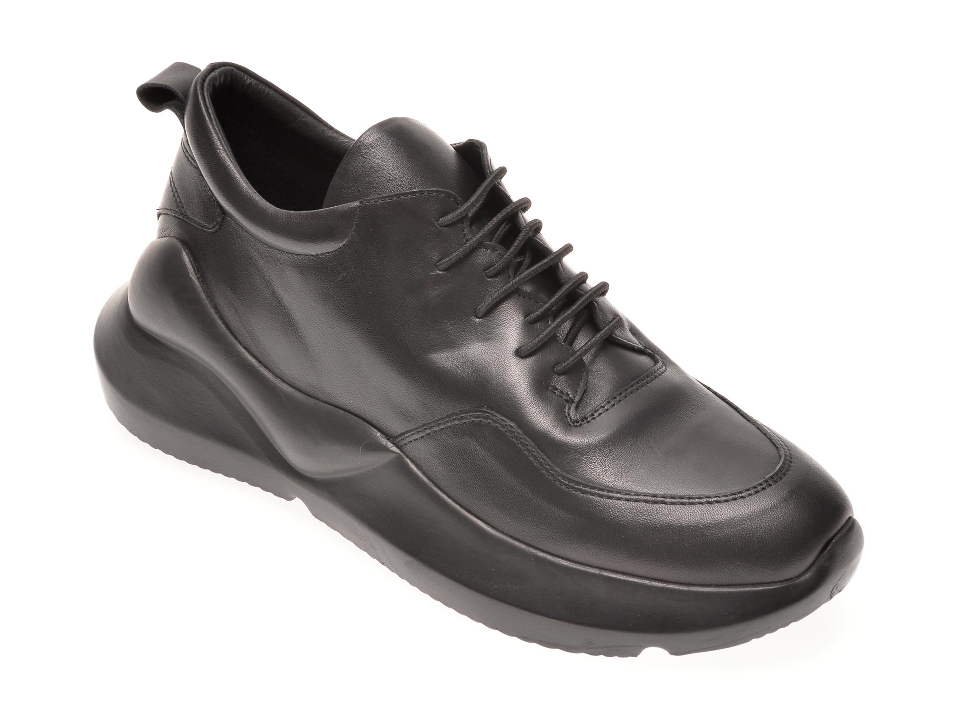 Pantofi sport FLAVIA PASSINI negri, 471591, din piele naturala New