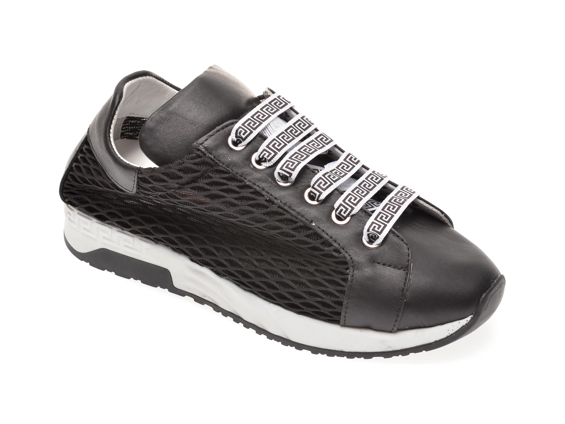 Pantofi sport FLAVIA PASSINI negri, 6010187, din piele naturala