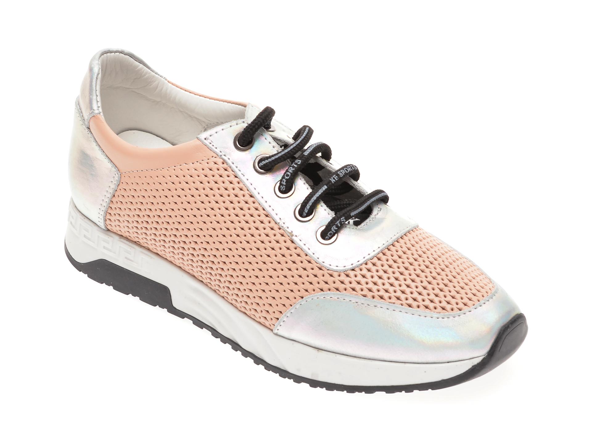 Pantofi sport FLAVIA PASSINI nude, 6190315, din piele naturala