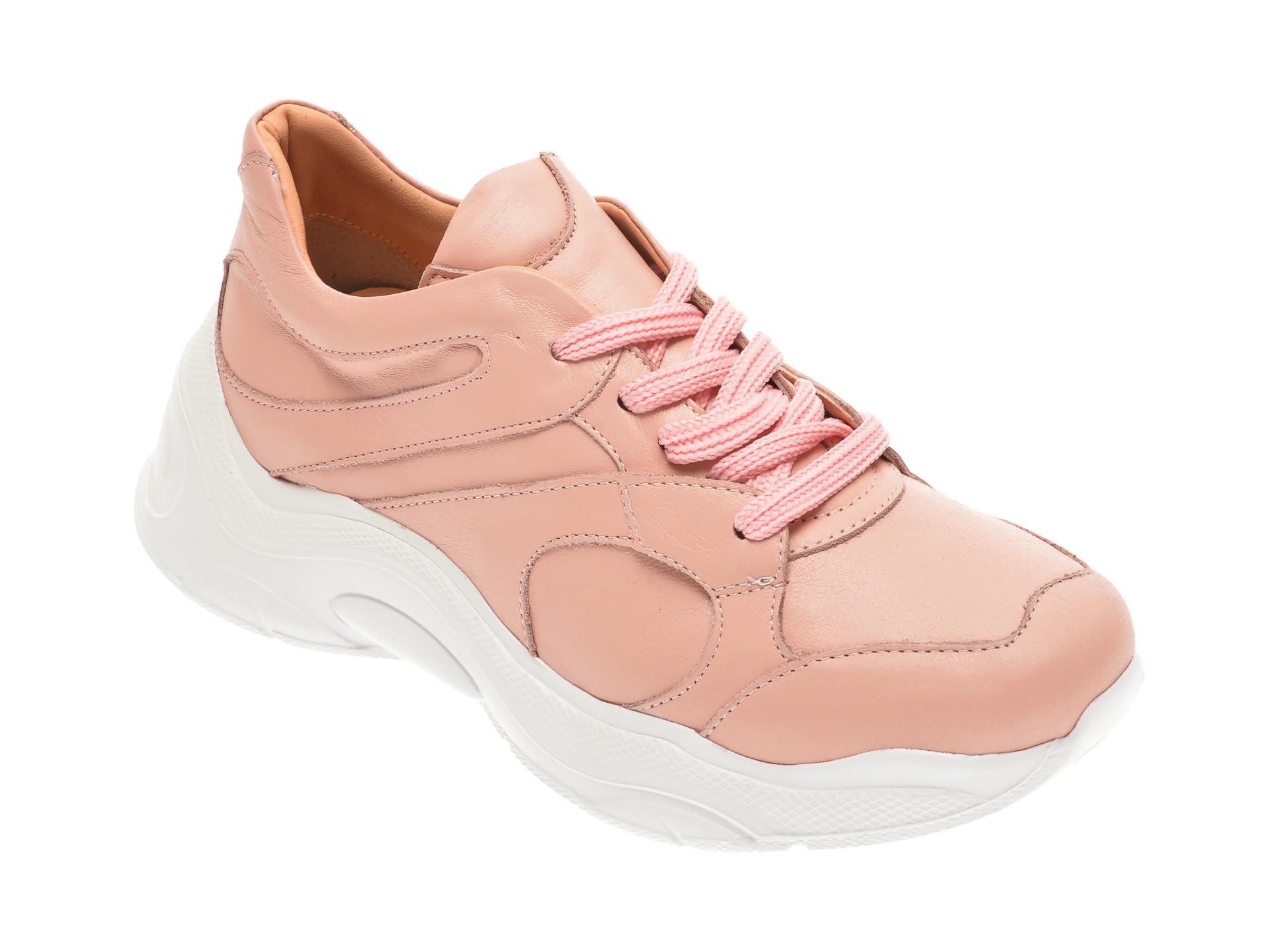 Pantofi sport FLAVIA PASSINI roz, 135P40, din piele naturala