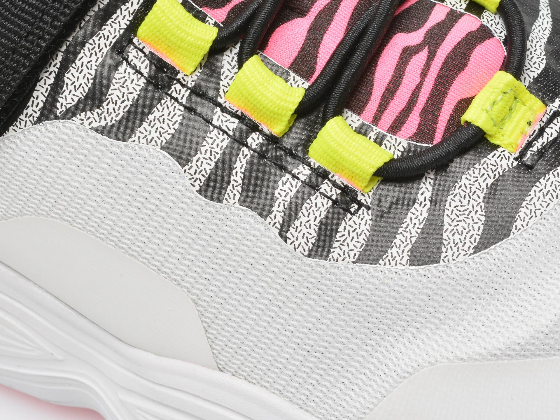 Pantofi sport GEOX albi, J15CNA, din piele ecologica - 2