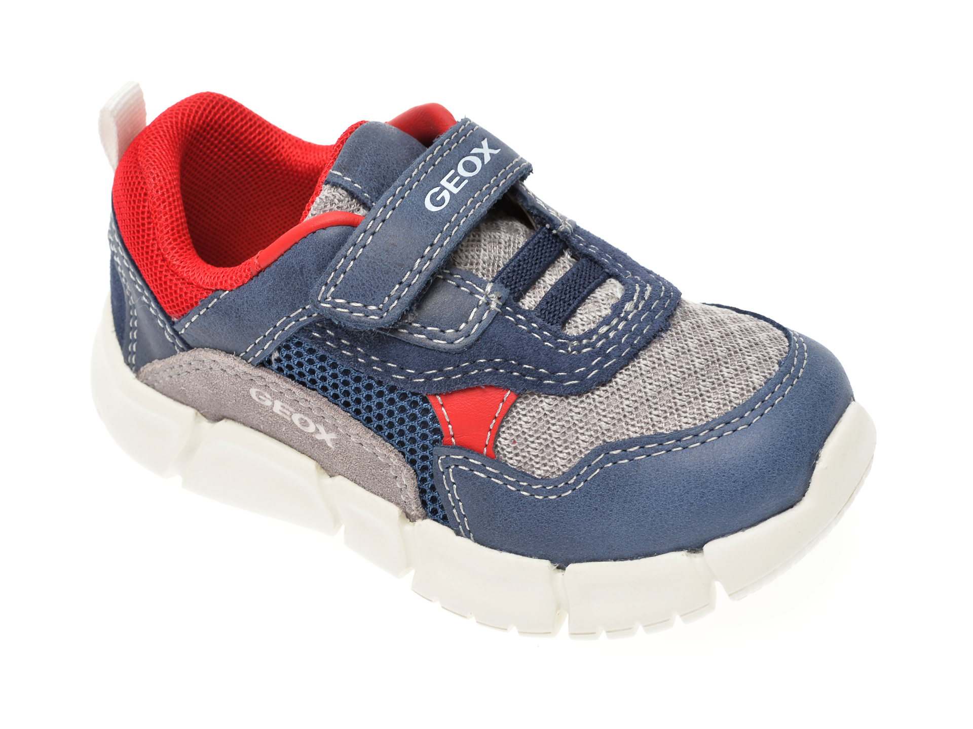Pantofi sport GEOX bleumarin, B022TA, din material textil si piele naturala New
