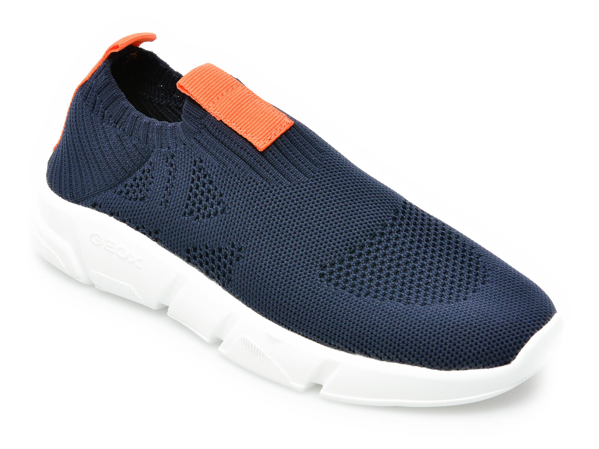 Pantofi sport GEOX bleumarin, J02DMA, din material textil