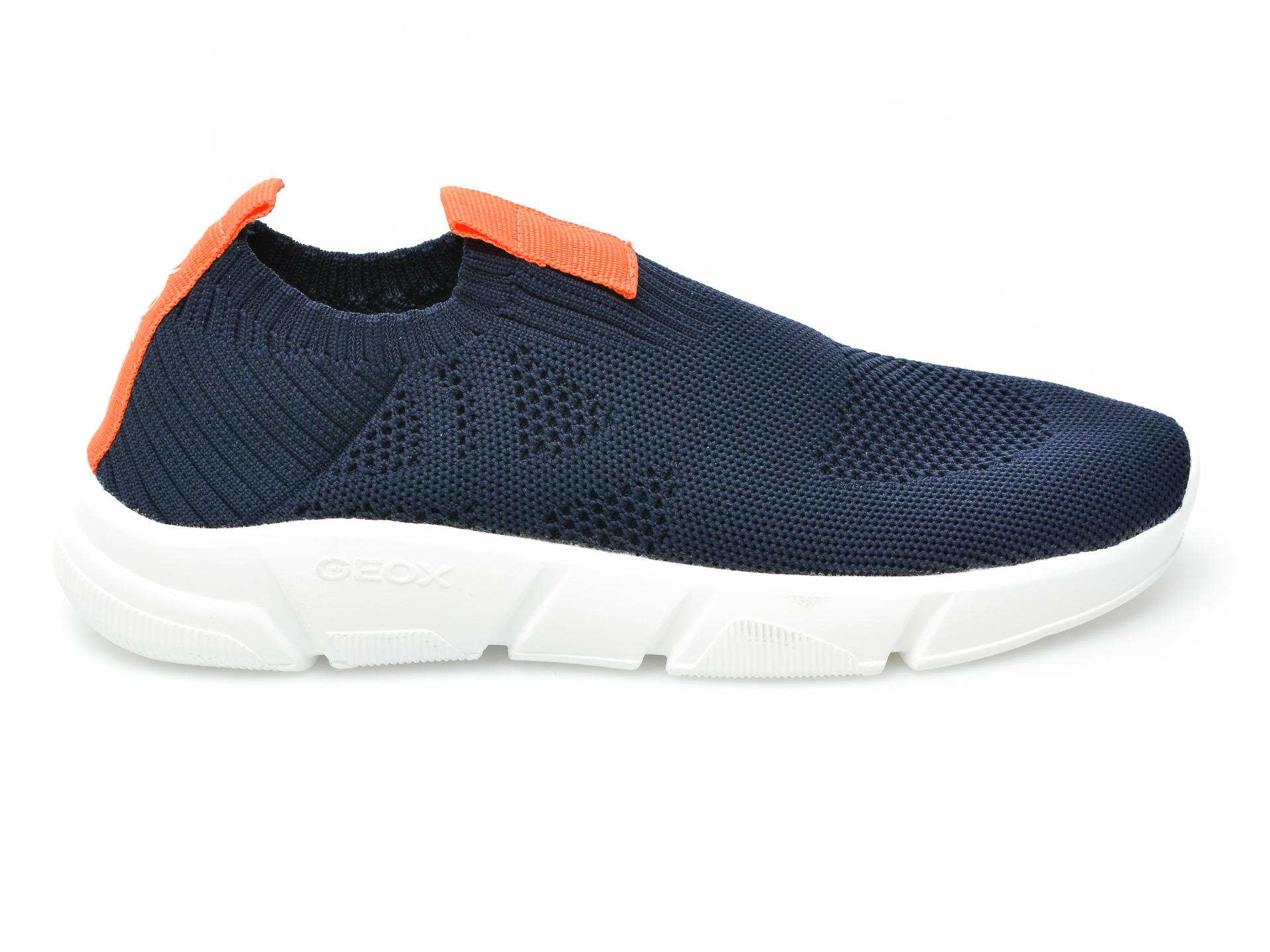 Pantofi sport GEOX bleumarin, J02DMA, din material textil - 1