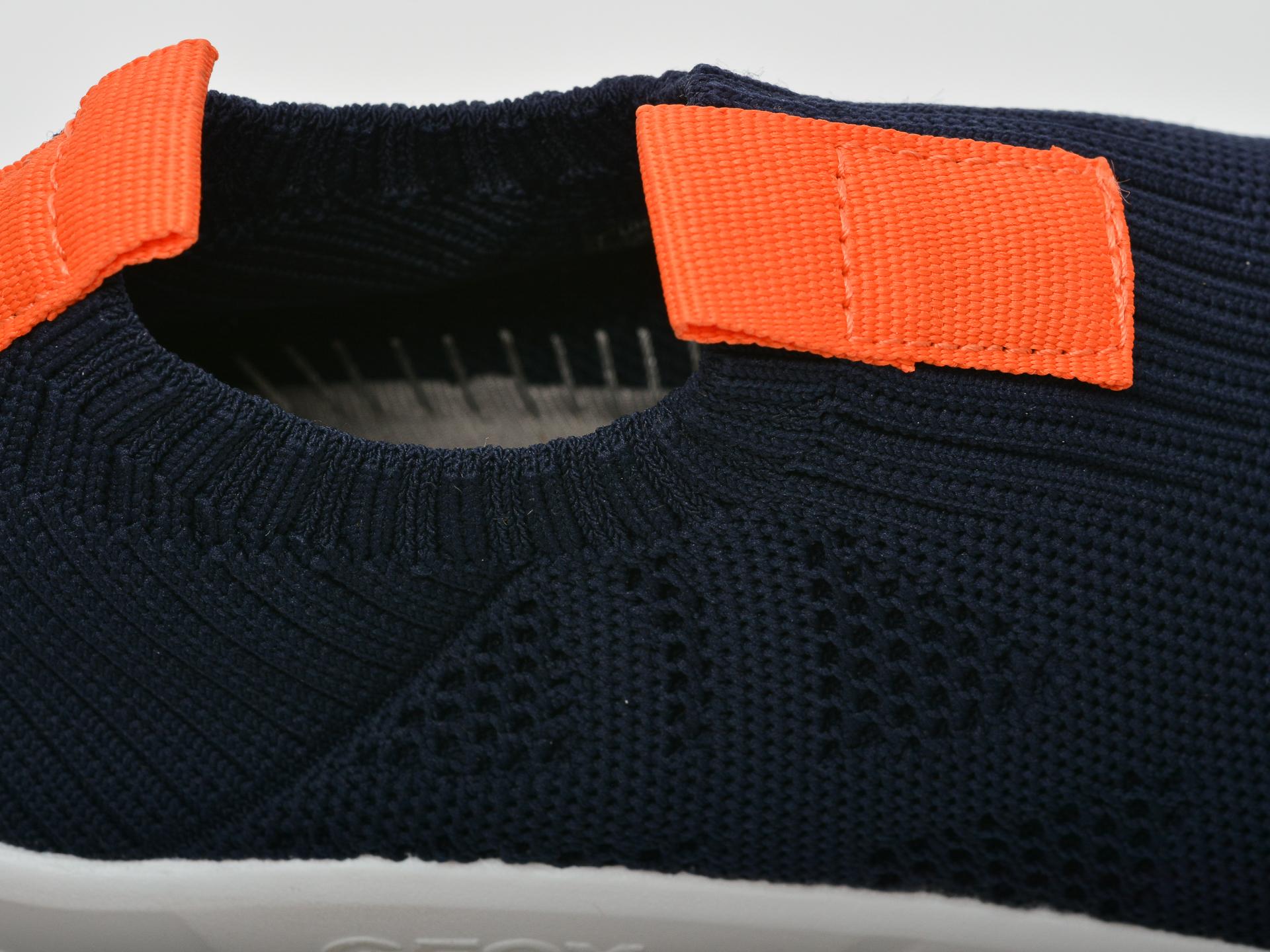 Pantofi sport GEOX bleumarin, J02DMA, din material textil - 3