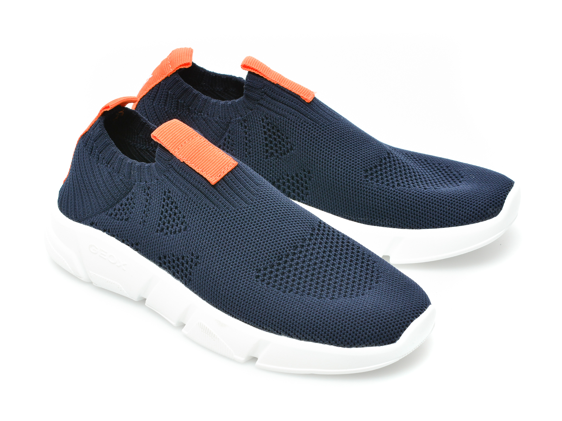 Pantofi sport GEOX bleumarin, J02DMA, din material textil - 4