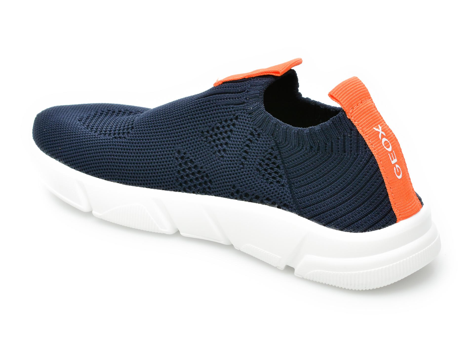 Pantofi sport GEOX bleumarin, J02DMA, din material textil - 5