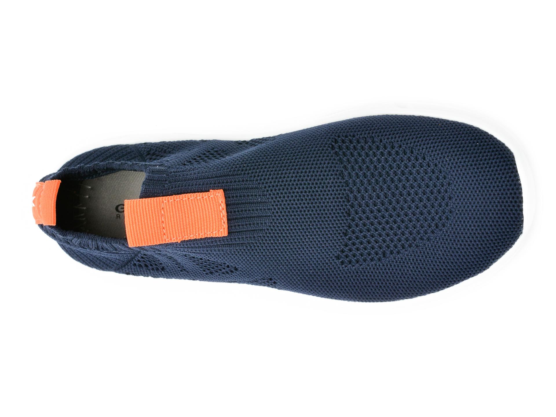 Pantofi sport GEOX bleumarin, J02DMA, din material textil - 6