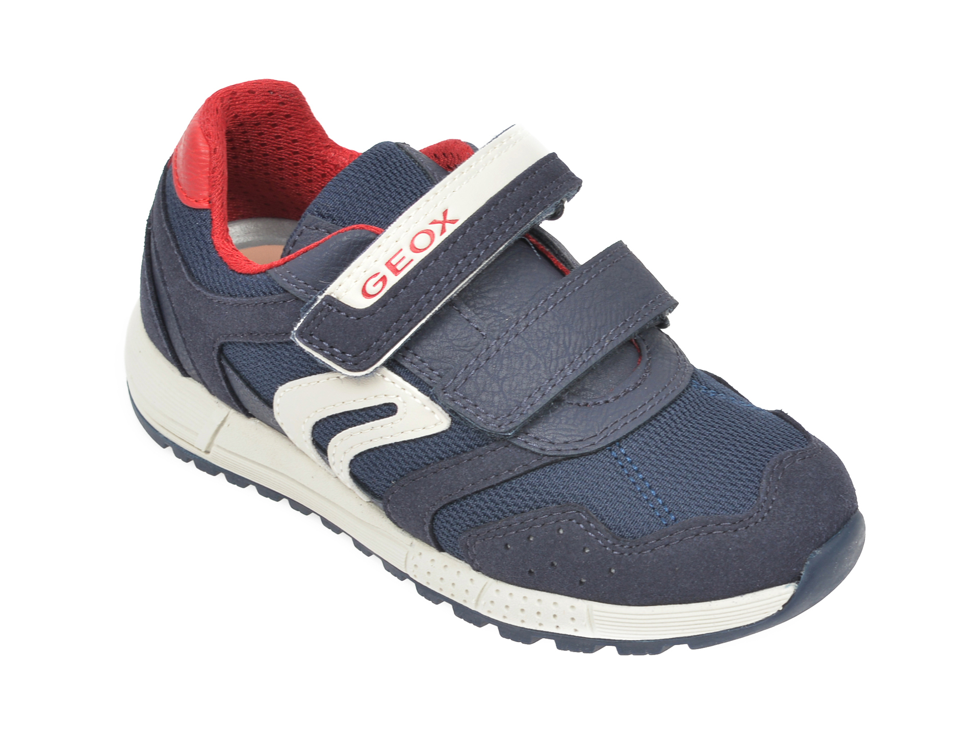 Pantofi sport GEOX bleumarin, J949EC, din piele ecologica New
