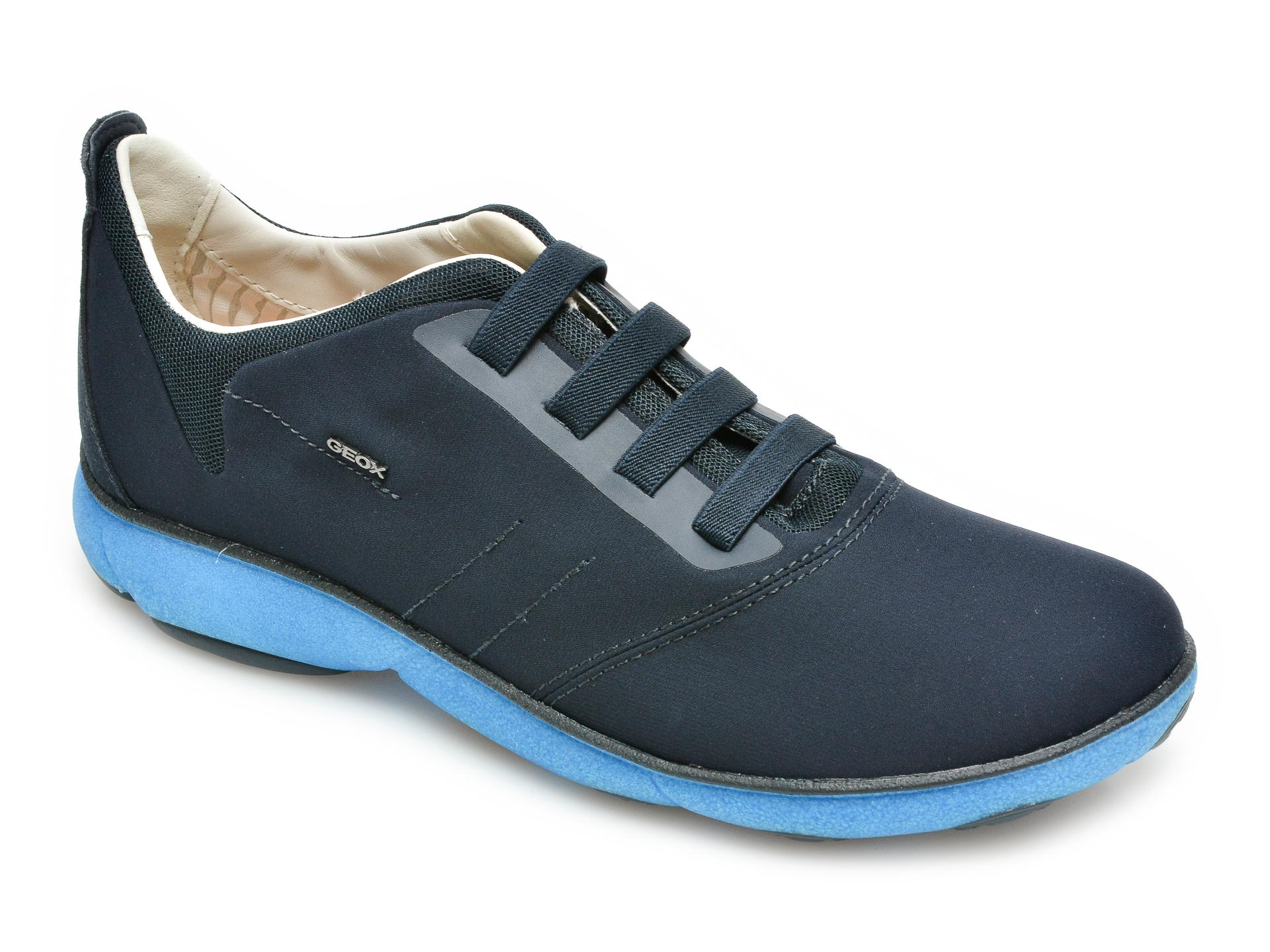 Pantofi sport GEOX bleumarin, U15D7C, din material textil imagine
