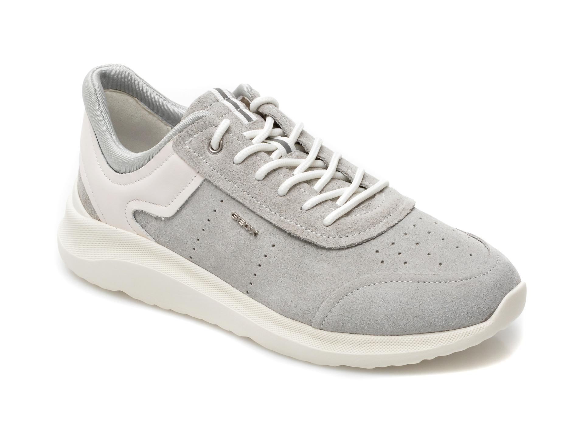 Pantofi sport GEOX gri, D15NUA, din material textil