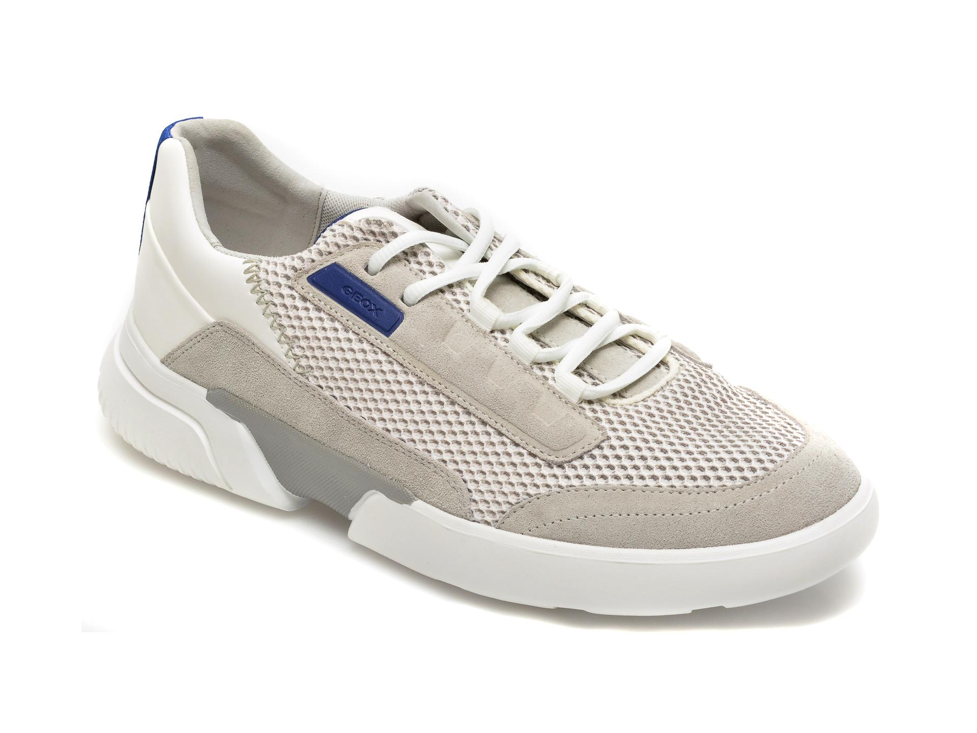 Pantofi sport GEOX gri, U15AFA, din piele ecologica imagine