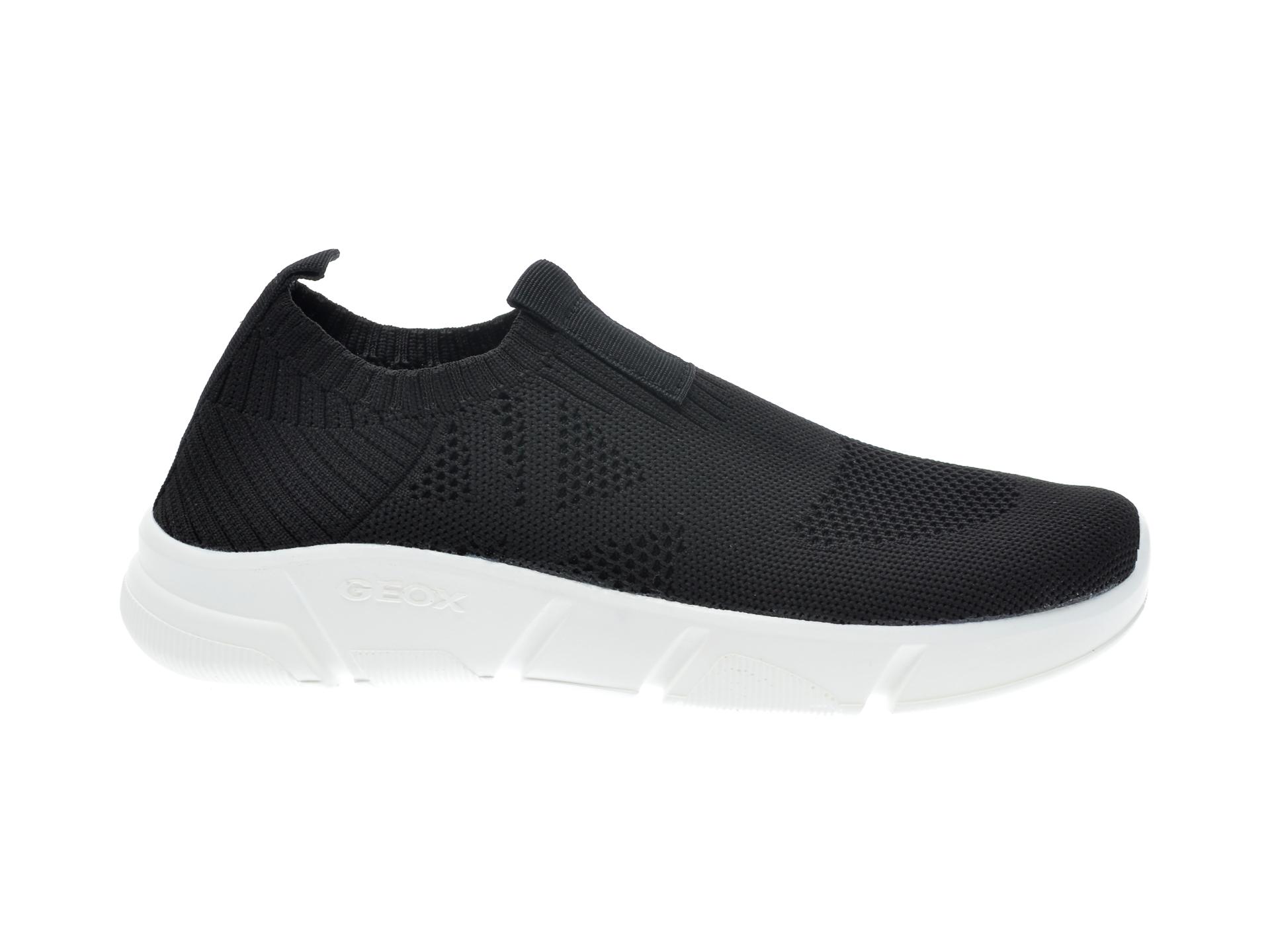 Pantofi sport GEOX negri, J02DMA, din material textil - 1