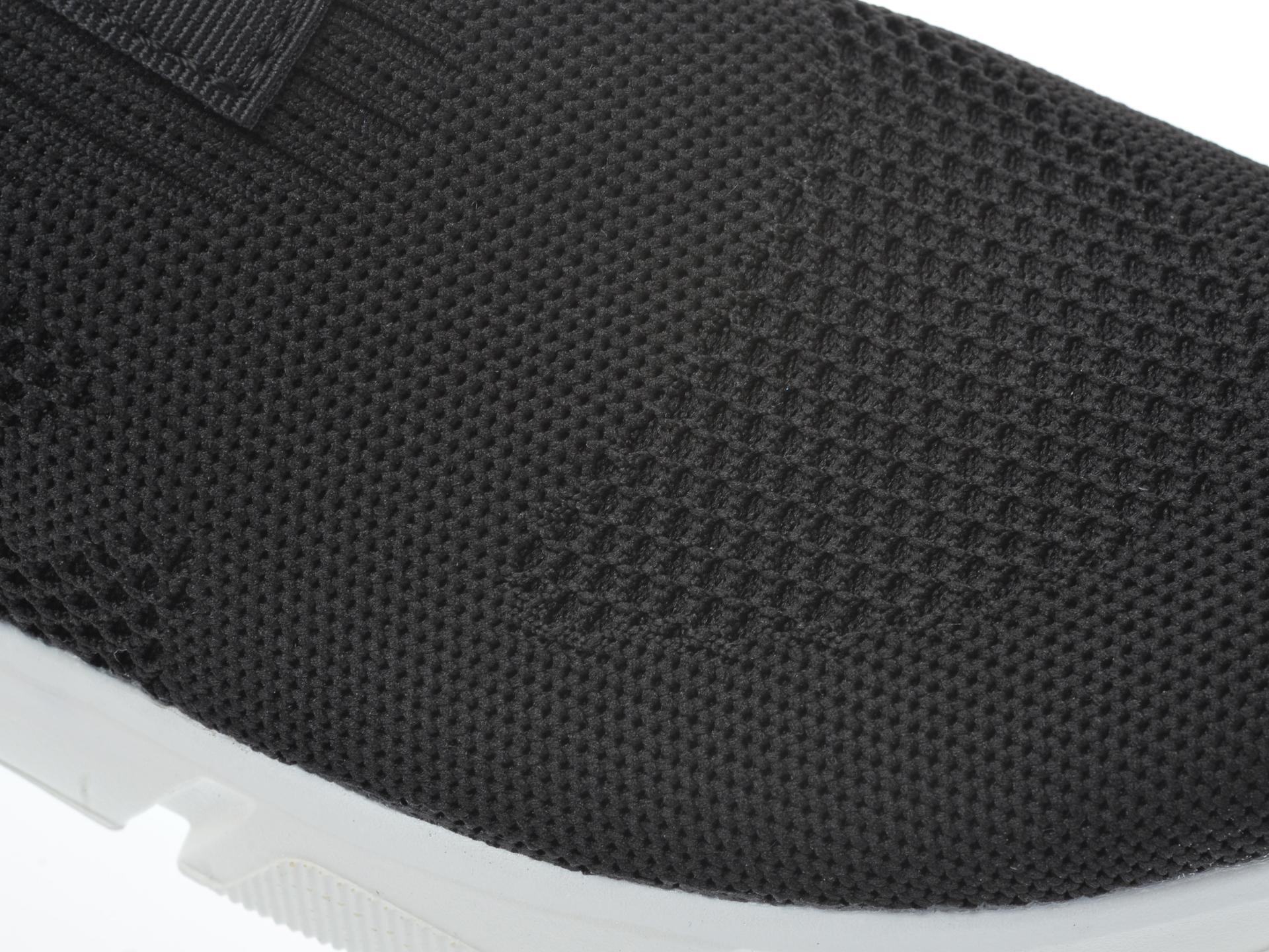 Pantofi sport GEOX negri, J02DMA, din material textil - 2