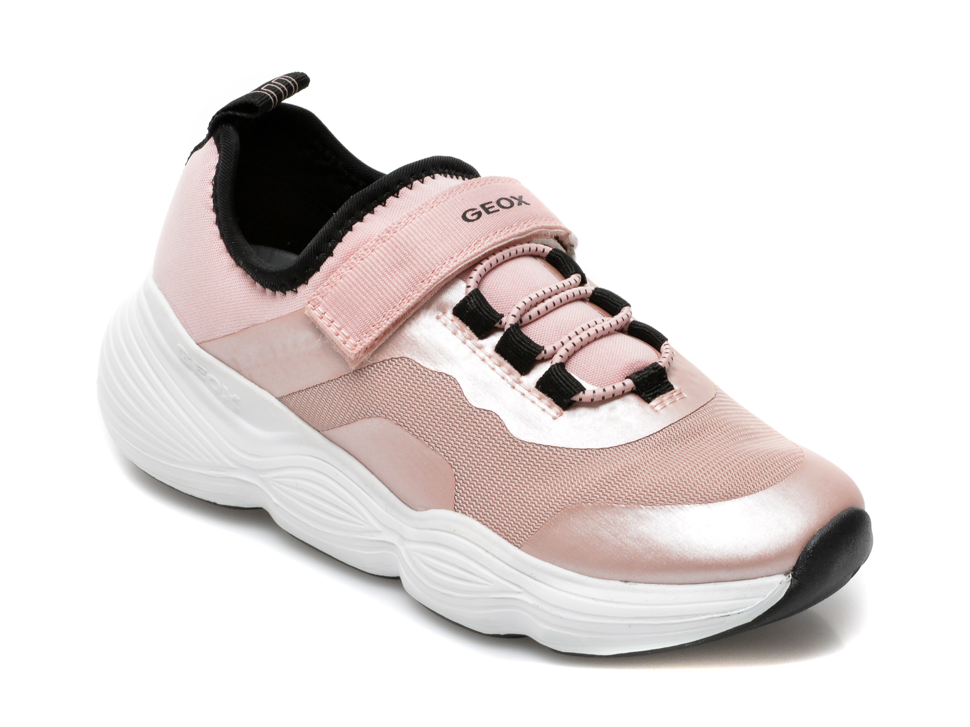 Pantofi sport GEOX roz, J15CNA, din material textil imagine otter.ro