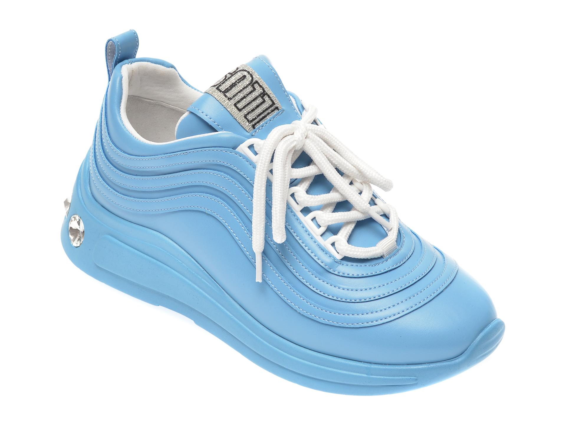 Pantofi sport GRYXX albastri, P43, din piele ecologica imagine