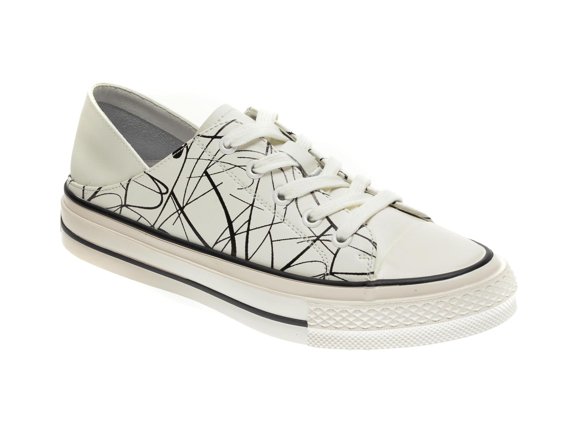 Pantofi sport GRYXX albi, 200131, din piele naturala imagine