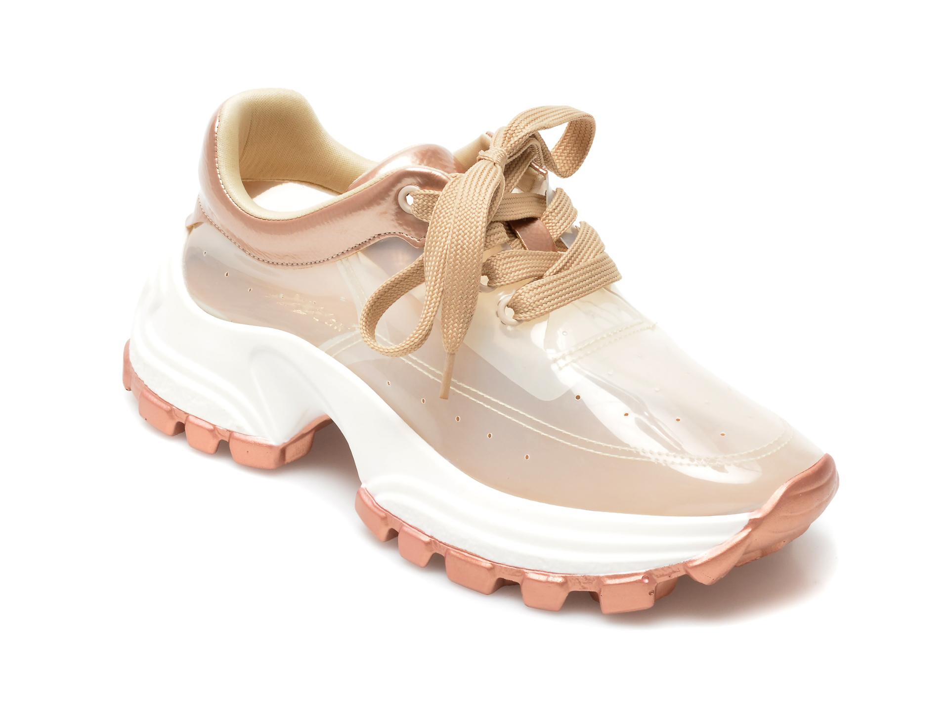Pantofi sport GRYXX aurii, MO12416, din piele ecologica