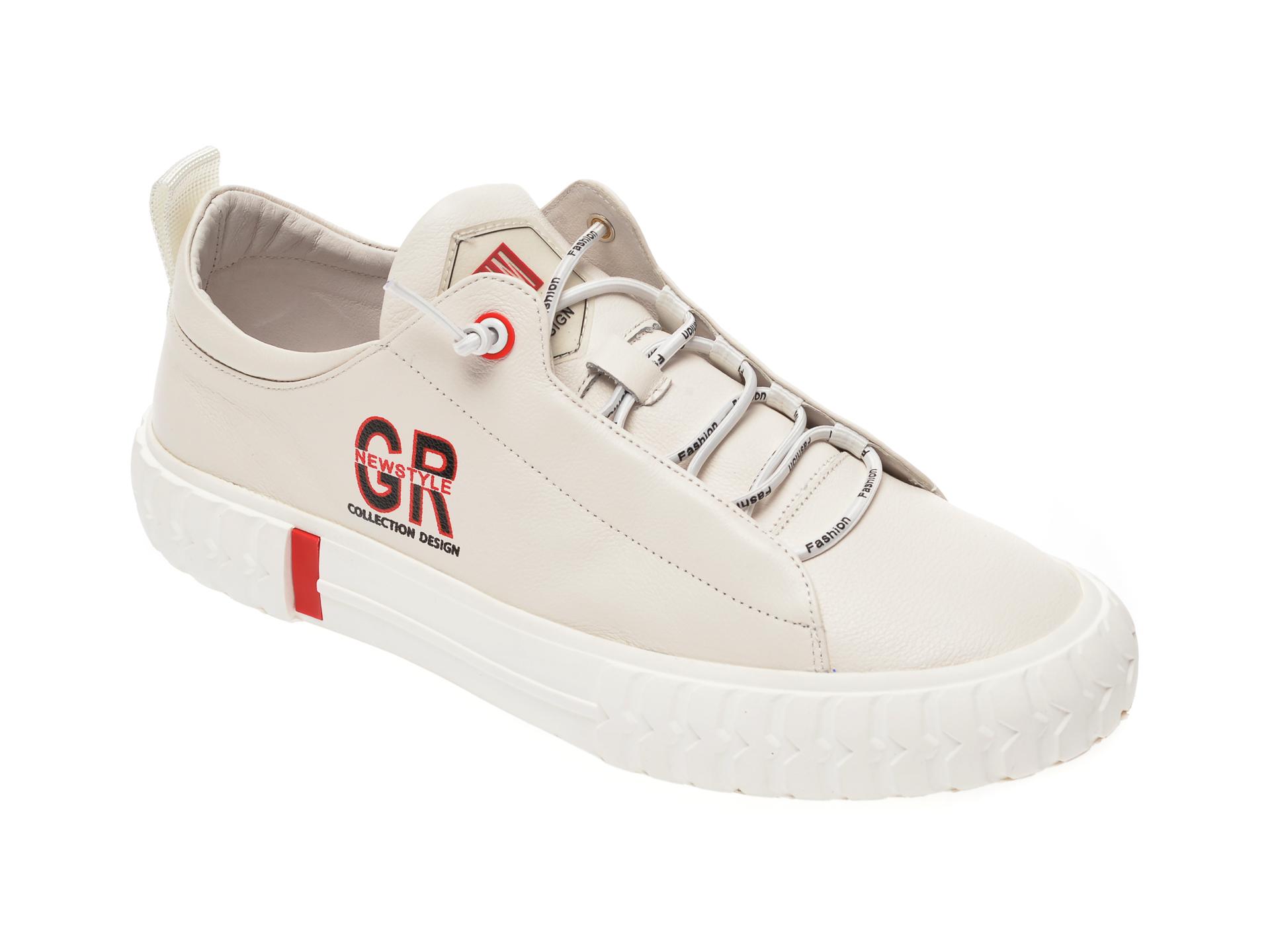 Pantofi sport GRYXX bej, 5001, din piele naturala imagine