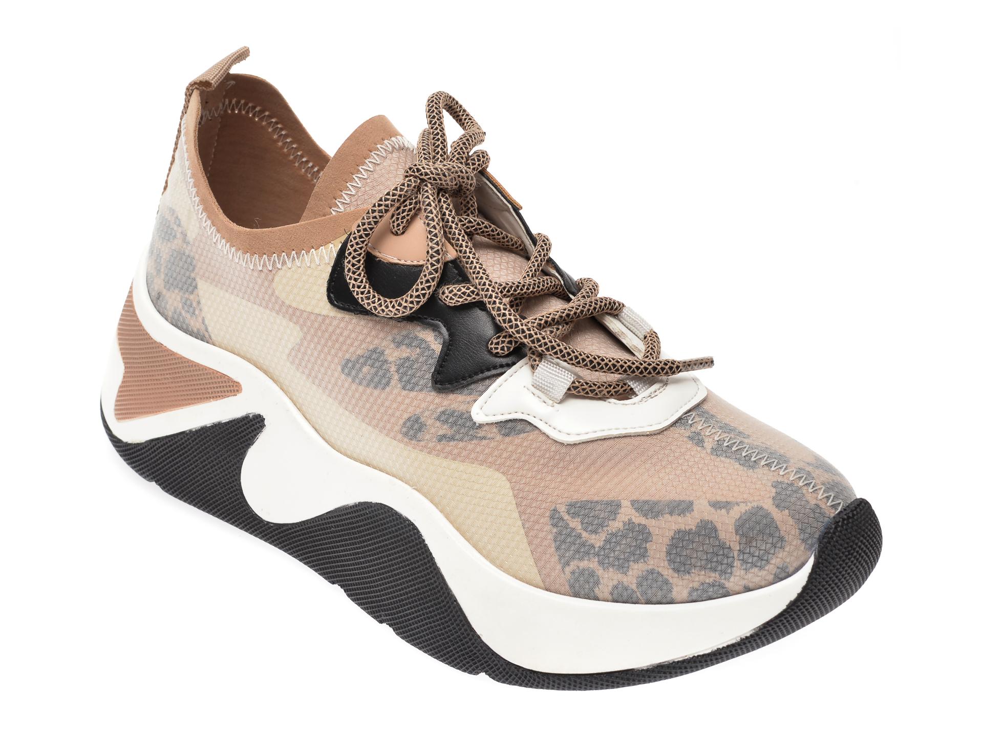 Pantofi sport GRYXX bej, MK18, din material textil New