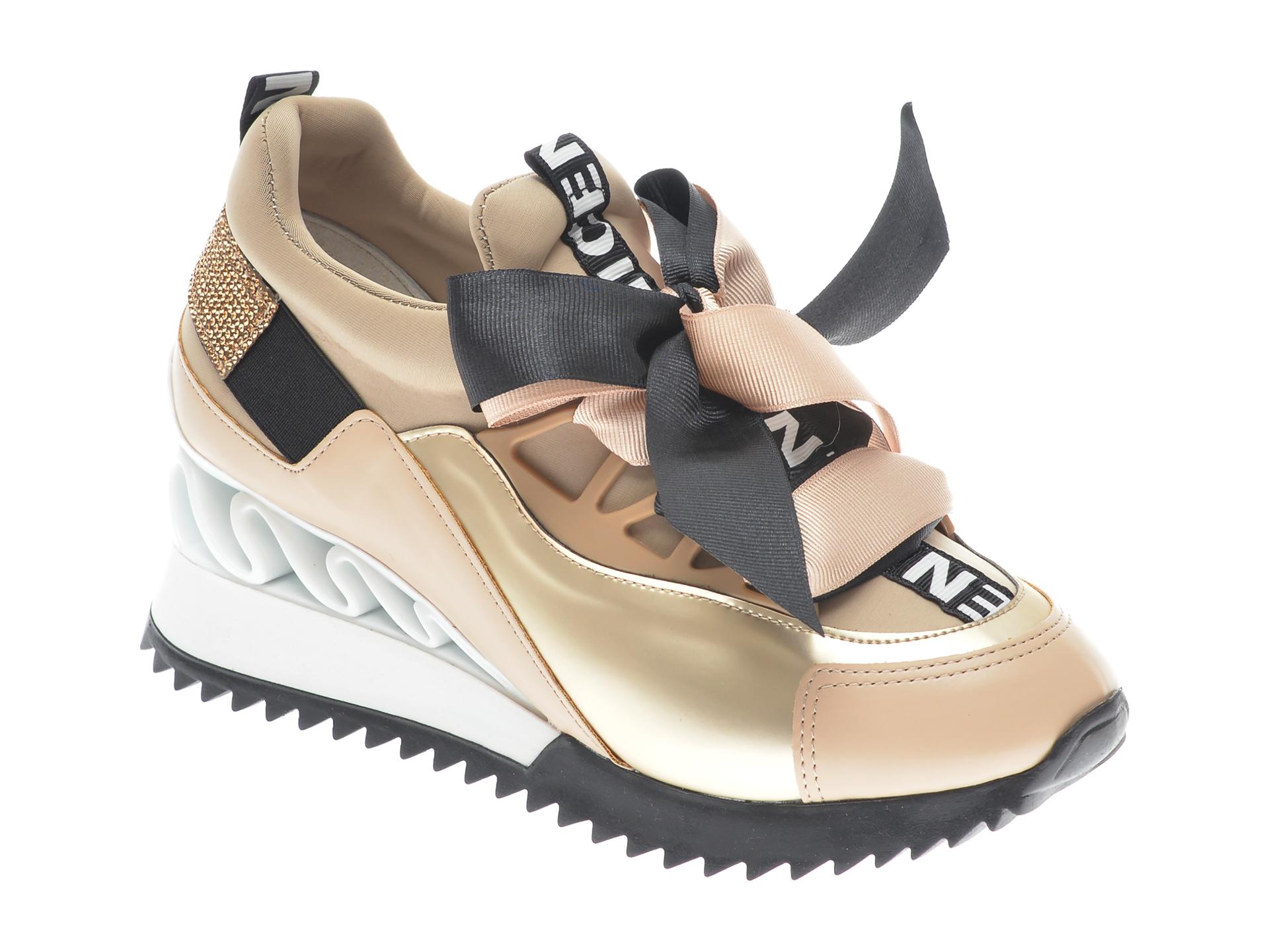 Pantofi sport GRYXX bej, MK88SN1, din piele ecologica imagine