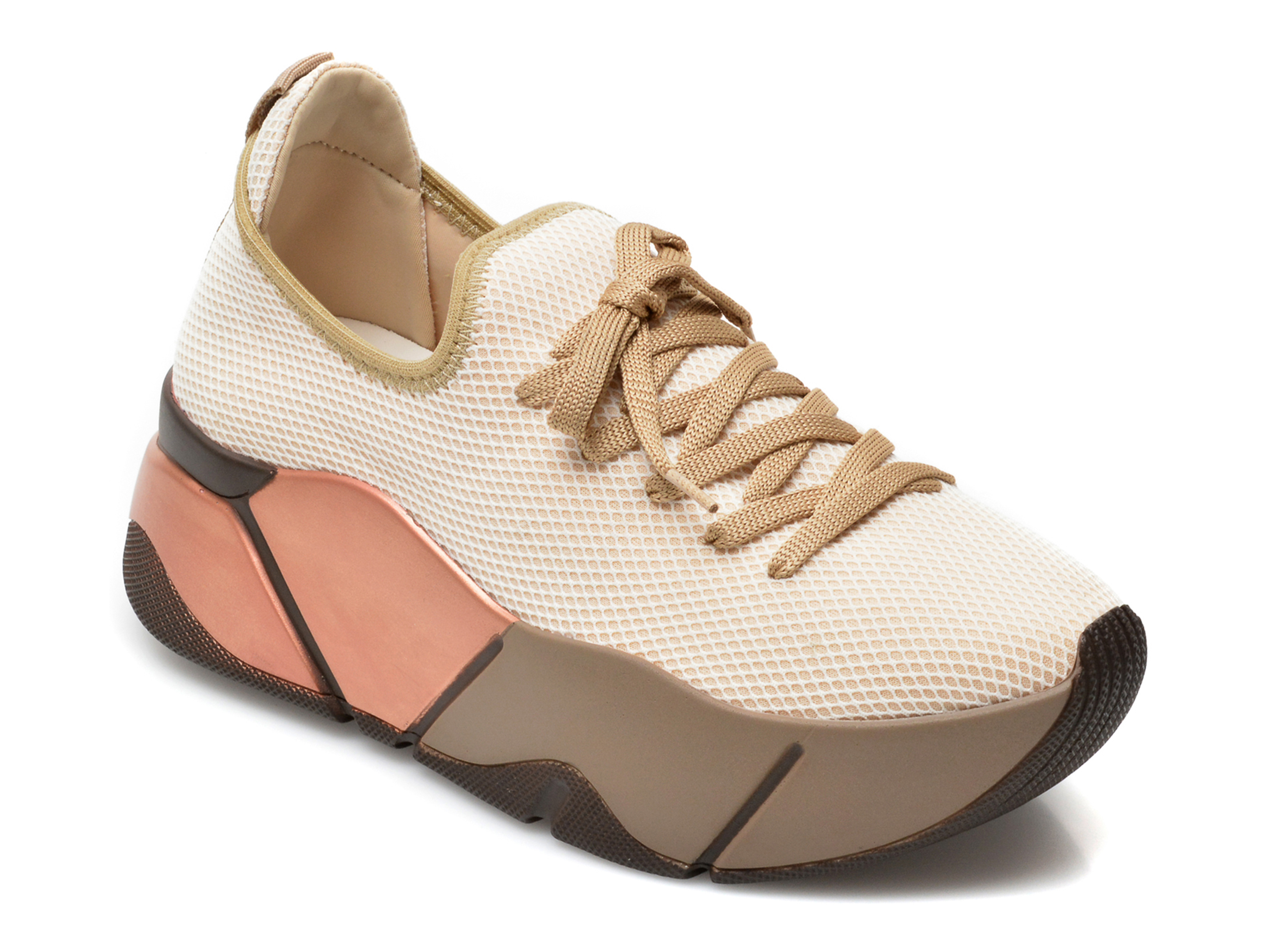 Pantofi sport GRYXX bej, MO861, din material textil imagine otter.ro 2021