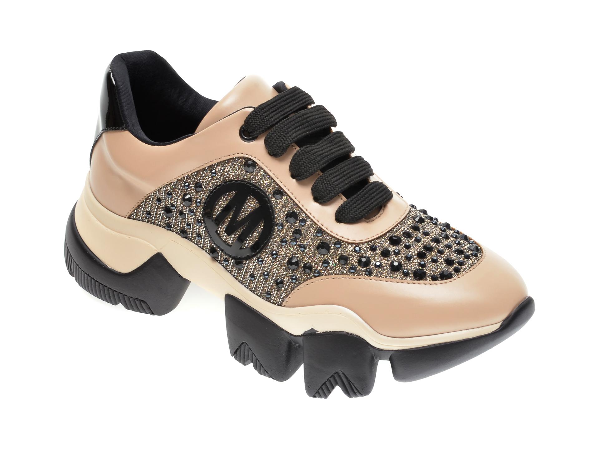 Pantofi sport GRYXX bej, MO9950, din piele ecologica New