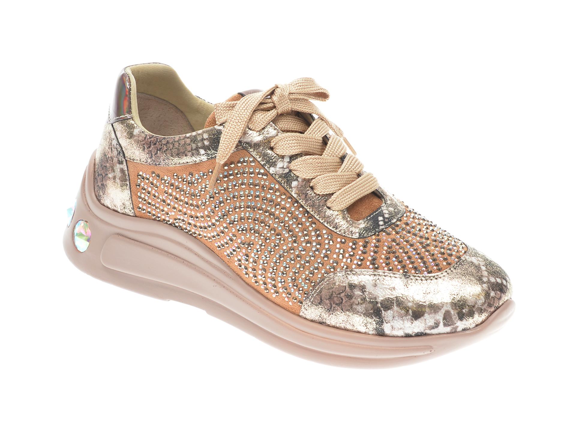 Pantofi sport GRYXX bej, P450, din piele ecologica imagine