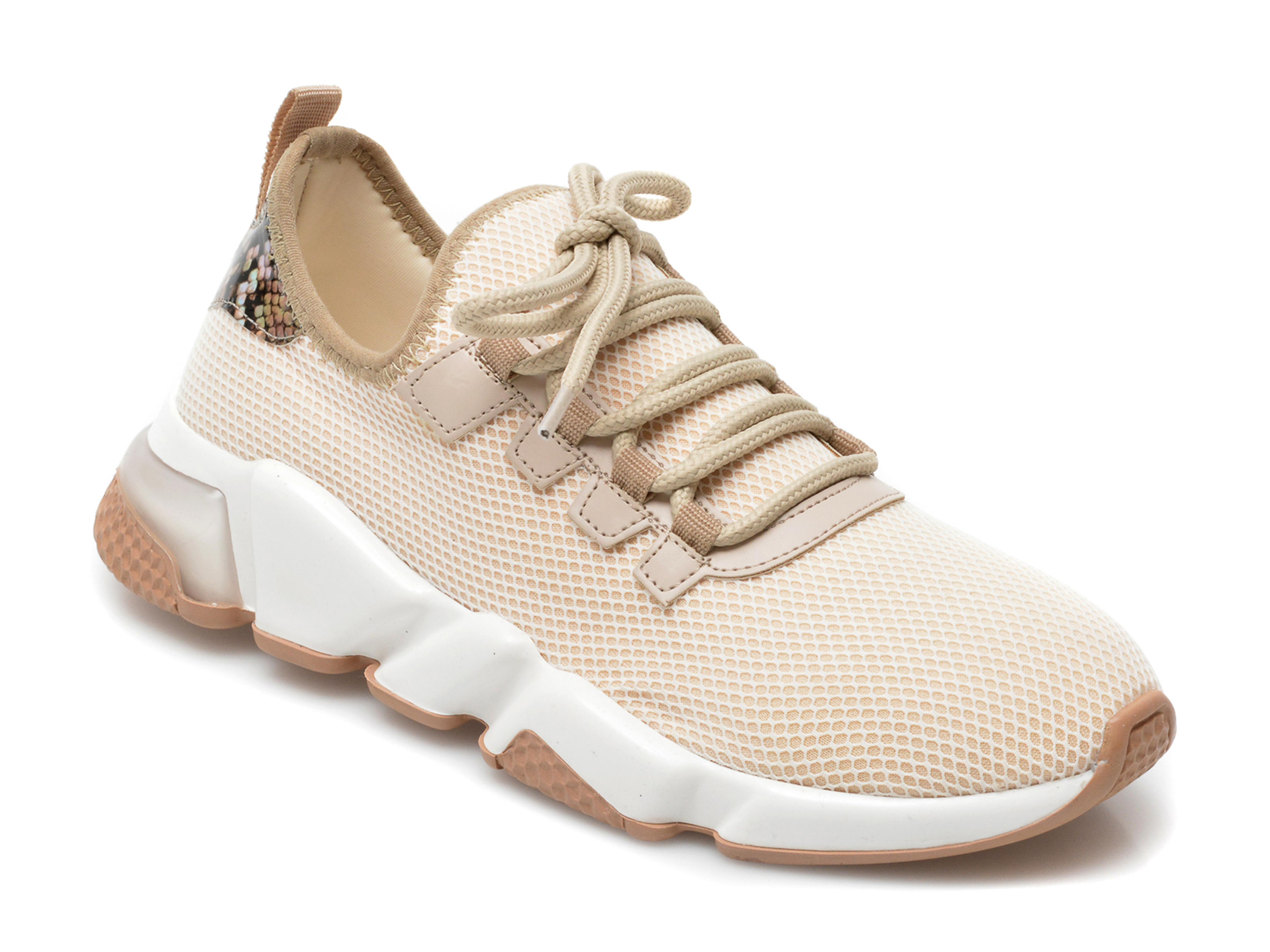 Pantofi Sport Gryxx Bej, T10107, Din Material Textil