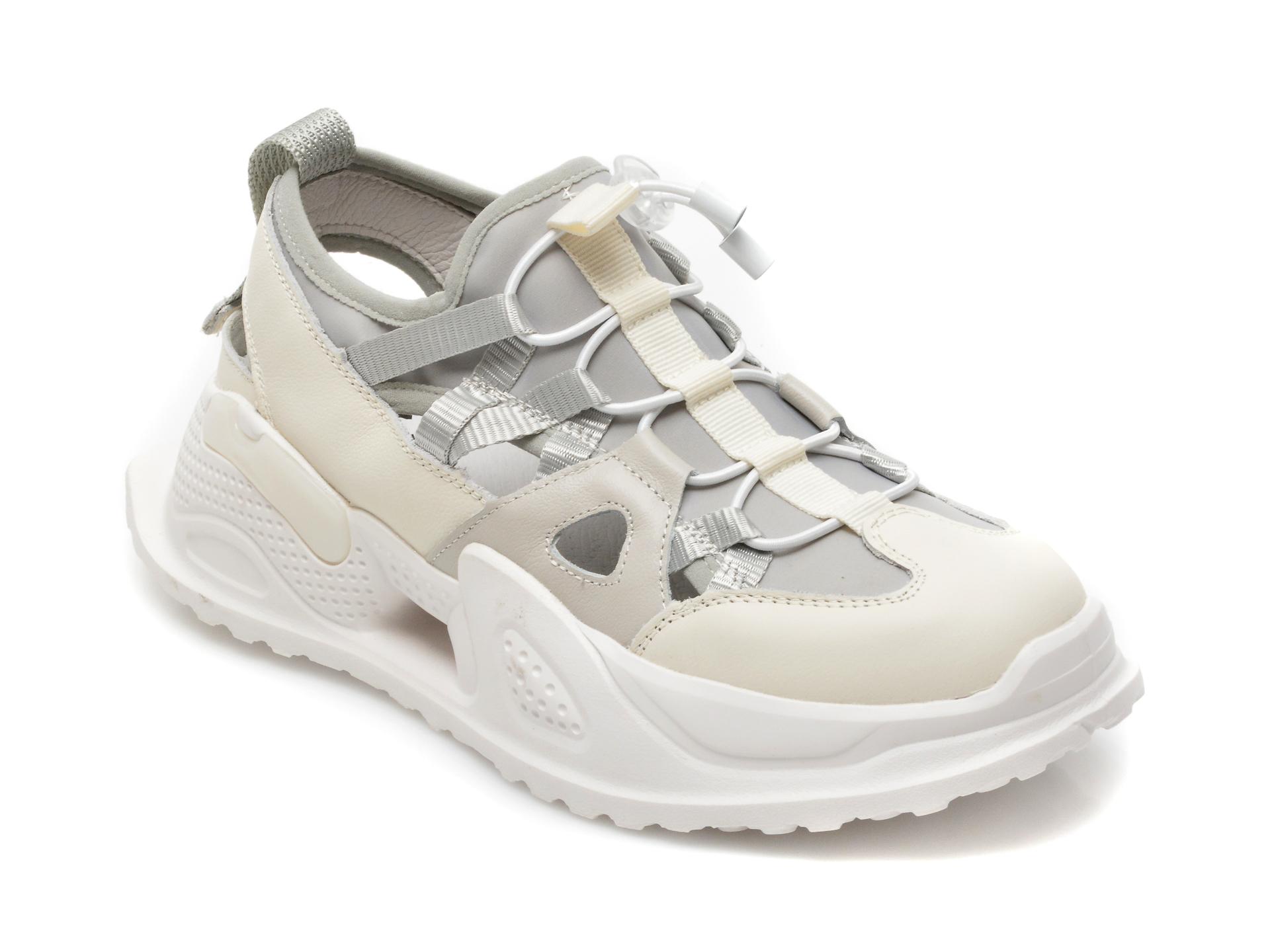 Pantofi sport GRYXX gri, B3171, din material textil si piele naturala imagine 2021 Gryxx