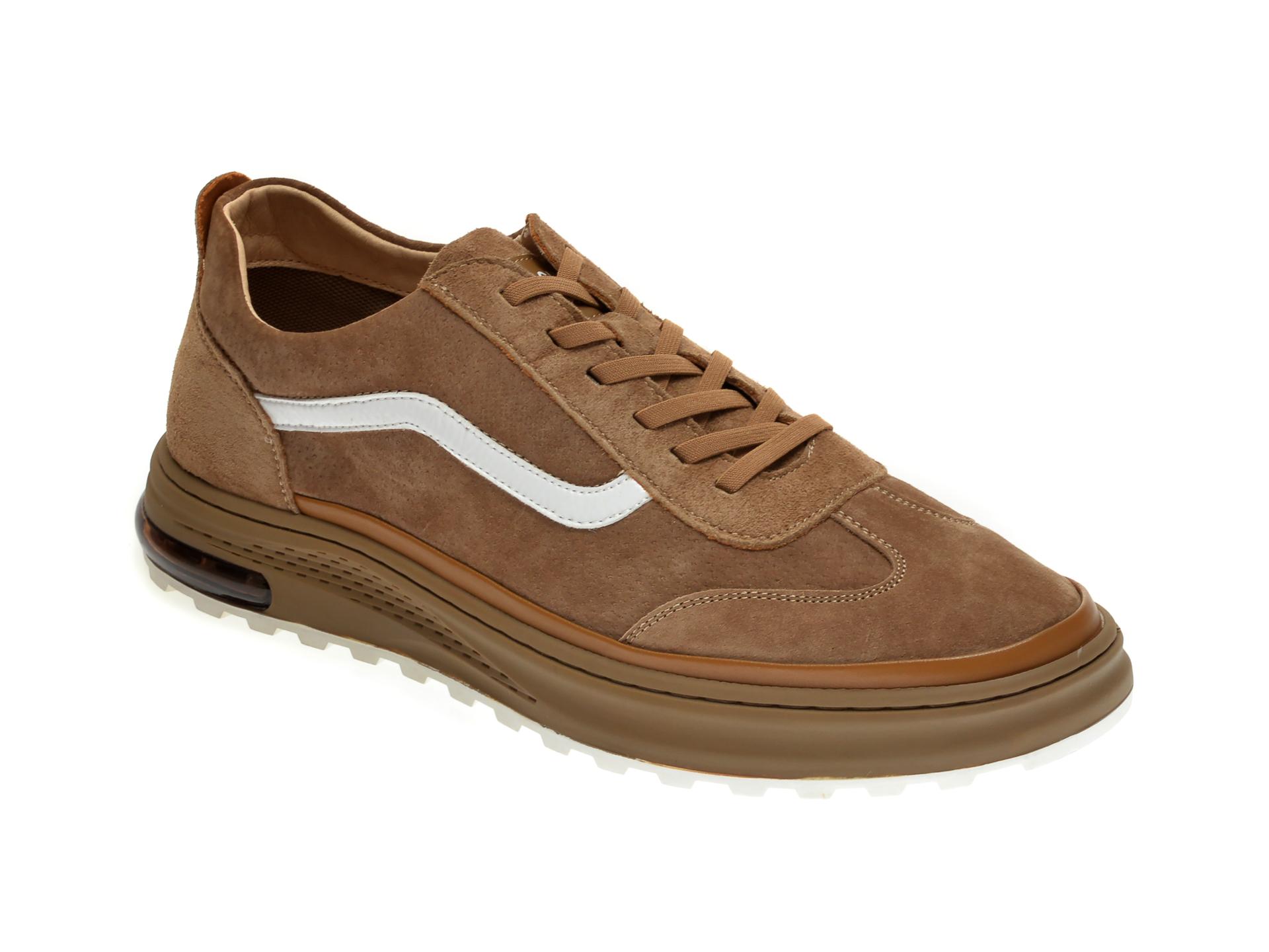 Pantofi sport GRYXX maro, 190358, din nabuc
