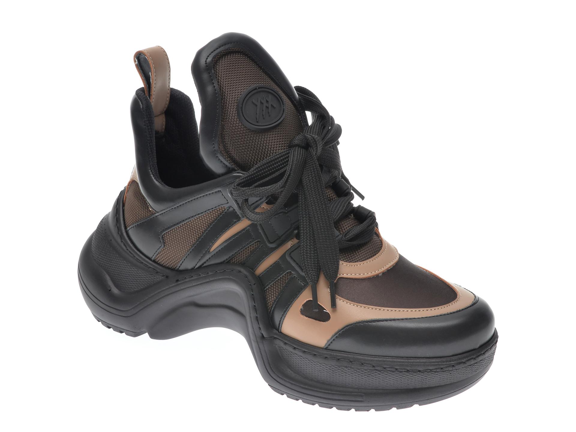 Pantofi sport GRYXX maro, MK1043, din piele ecologica imagine