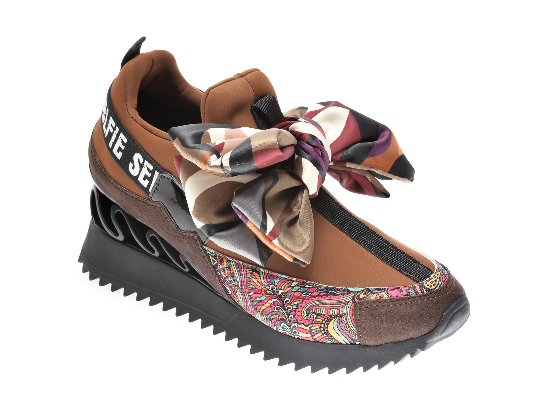 Pantofi sport GRYXX maro, MK8855, din material textil imagine otter.ro 2021