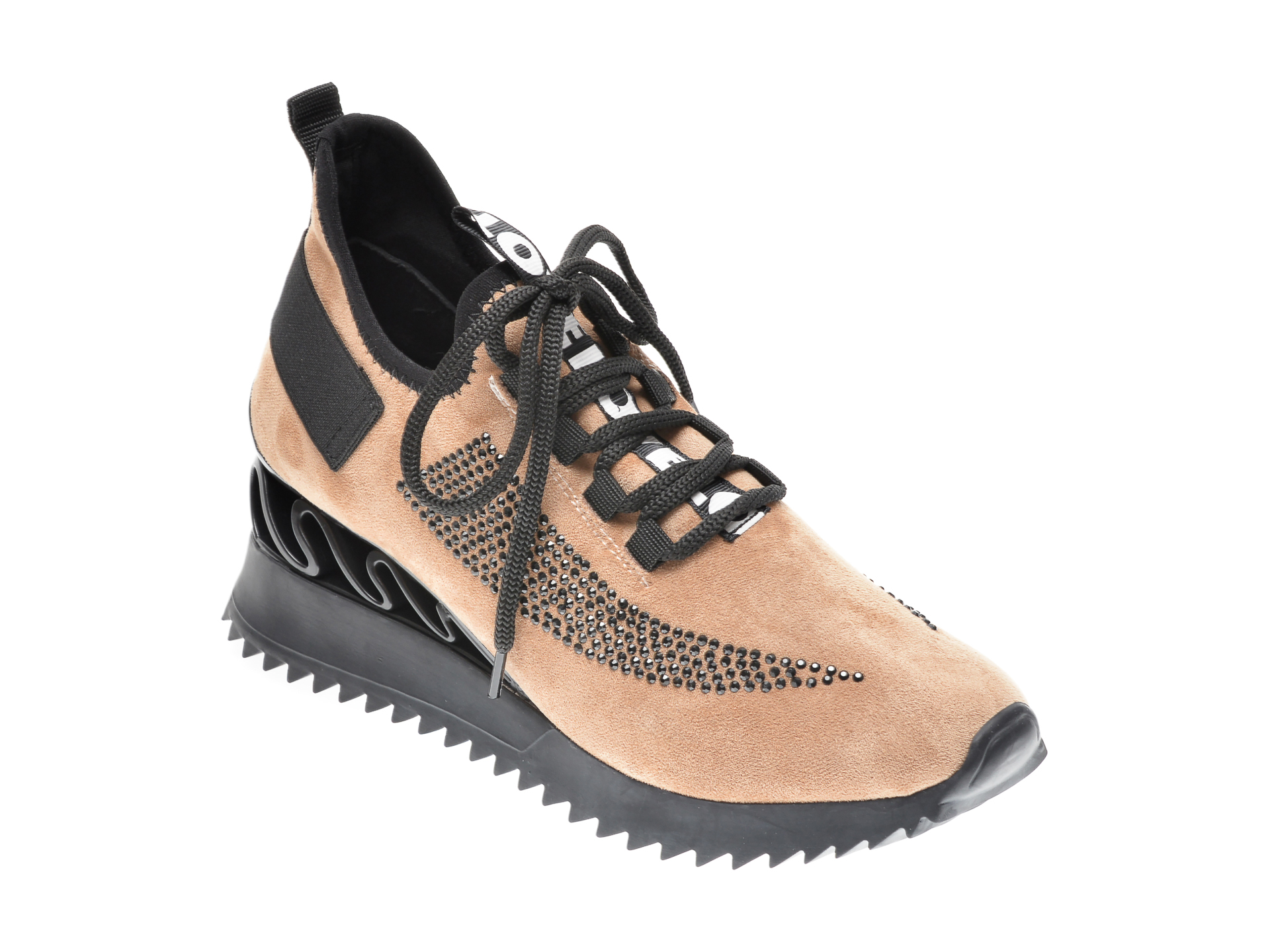 Pantofi sport GRYXX maro, MK8856, din piele ecologica